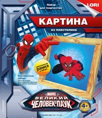 Картина из пластилина Человек-паук , LORI
