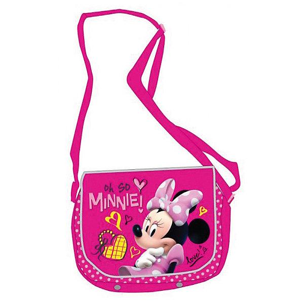 Сумка на плечо Минни Маус, DisneyШкольные сумки<br>Стильная и удобная сумка с героиней известного мультфильма обязательно понравится девочке и станет любимым аксессуаром. Сумка выполнена из высококачественного прочного материала, легко протирается влажной губкой при загрязнении, имеет ремень регулируемый по длине. <br><br>Дополнительная информация:<br><br>- Материал: текстиль, полиэстер, пластик.  <br>- Регулируемый ремень. <br>- Размер: 18х18х5,5 см<br>- Цвет: розовый.<br>- Застежка: молния.<br>- Количество отделений: 1<br>- Количество карманов: 3<br><br>Сумку на плечо Минни Маус, Disney ( Дисней, Minnie Mouse) можно купить в нашем магазине.<br>Ширина мм: 190; Глубина мм: 350; Высота мм: 180; Вес г: 200; Возраст от месяцев: 36; Возраст до месяцев: 96; Пол: Женский; Возраст: Детский; SKU: 4028859;