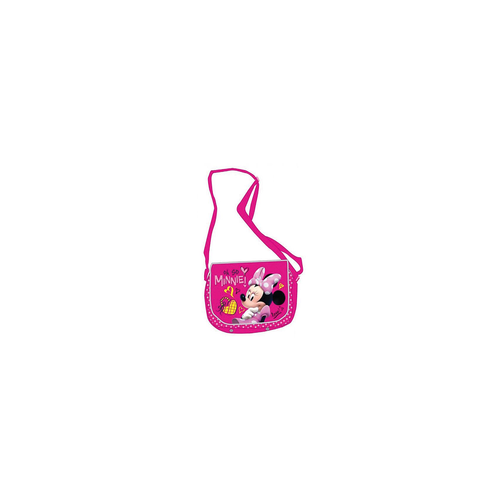 Сумка на плечо Минни Маус, DisneyСтильная и удобная сумка с героиней известного мультфильма обязательно понравится девочке и станет любимым аксессуаром. Сумка выполнена из высококачественного прочного материала, легко протирается влажной губкой при загрязнении, имеет ремень регулируемый по длине. <br><br>Дополнительная информация:<br><br>- Материал: текстиль, полиэстер, пластик.  <br>- Регулируемый ремень. <br>- Размер: 18х18х5,5 см<br>- Цвет: розовый.<br>- Застежка: молния.<br>- Количество отделений: 1<br>- Количество карманов: 3<br><br>Сумку на плечо Минни Маус, Disney ( Дисней, Minnie Mouse) можно купить в нашем магазине.<br><br>Ширина мм: 190<br>Глубина мм: 350<br>Высота мм: 180<br>Вес г: 200<br>Возраст от месяцев: 36<br>Возраст до месяцев: 96<br>Пол: Женский<br>Возраст: Детский<br>SKU: 4028859
