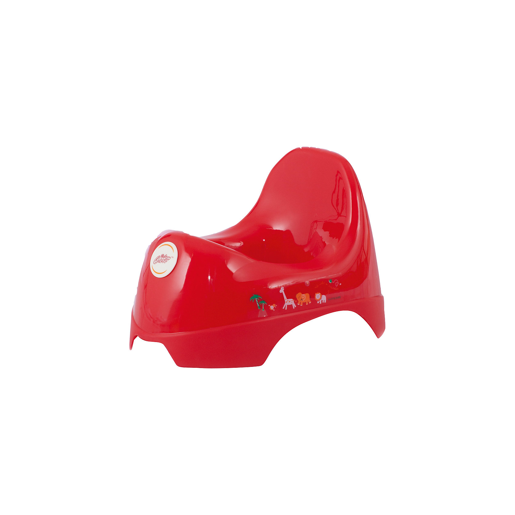 Горшок анатомический  JBB-A, Baby Care, красный