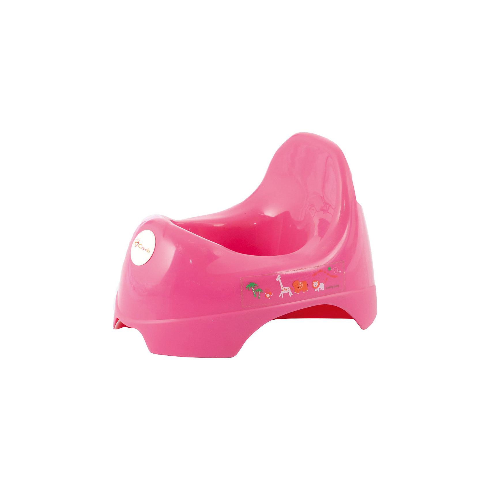 Горшок анатомический  JBB-A, Baby Care, розовый