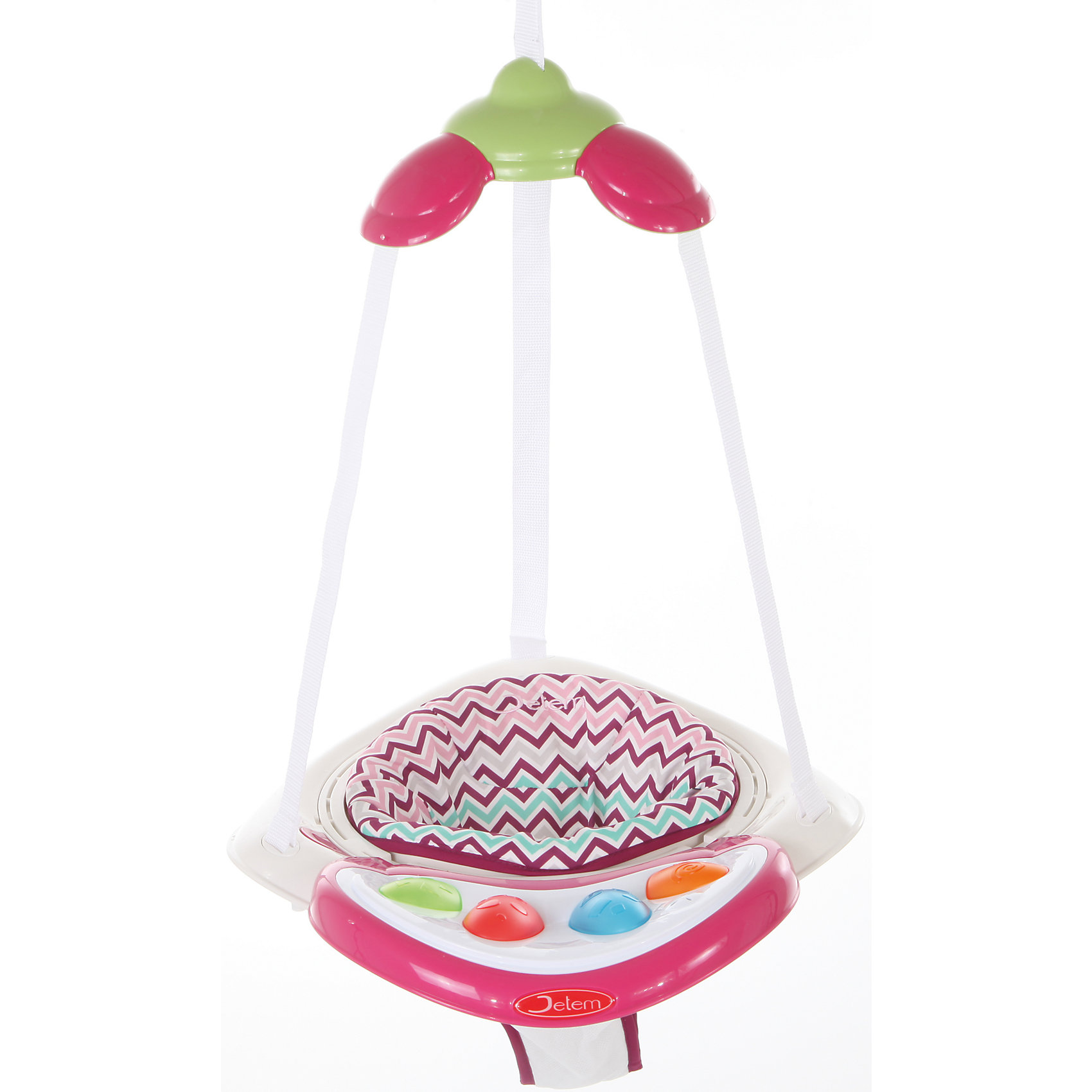 Прыгунки Air Jumper, Jetem, raspberry stripe от myToys