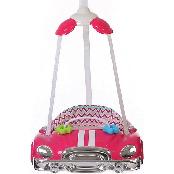 Прыгунки Auto, Jetem, Raspberry StripeПрыгунки<br>Jetem Auto (Жетем Авто) – замечательные прыгунки, которые принесут столько радости малышу! Дети обожают машинки и прыгать, а прыгунки Jetem Auto (Жетем Авто) сочетают в себе оба эти удовольствия. С ними кроха научится прыгать, ориентироваться в пространстве и будет прекрасно развивать моторику ножек. Яркие и красивые прыгунки легко и надежно крепятся в дверной проем, а широкий каркас в виде машинки обеспечивает безопасность. Вы легко сможете отрегулировать ремешки под рост и вес ребенка и ему будет очень весело и комфортно. Благодаря игровой панели со звуковыми эффектами малыш будет с пользой проводить время в прыгунках и не заскучает! Прыгунки всегда будут выглядеть как новые, ведь сиденье так легко снять и постирать.<br><br>Дополнительная информация:<br><br>- Прыгунки предназначены для малыша от 4-х месяцев и до достижения 11 кг;<br>- Развивающая игровая панель с музыкальным оформлением;<br>- Мягкое комфортное сидение;<br>- Безопасный пластиковый каркас;<br>- Три точки фиксации: удобно сажать ребенка;<br>- Сиденье крепится в трех положениях;<br>- Регулировка по высоте с помощью надежного фиксатора;<br>- Цвет: Raspberry Stripe;<br>- Размер: 48 х 43 х 15 см;<br>- Вес: 3 кг<br><br>Прыгунки Auto, Jetem (Авто Жетем), Raspberry Stripe можно купить в нашем интернет-магазине.<br>Ширина мм: 600; Глубина мм: 440; Высота мм: 490; Вес г: 3000; Возраст от месяцев: 5; Возраст до месяцев: 11; Пол: Унисекс; Возраст: Детский; SKU: 4028913;