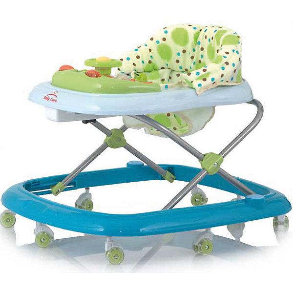 Ходунки Flip, Baby Care, синийХодунки<br>Характеристики ходунков Baby Care Flip:<br><br>• музыкальная панель;<br>• сиденье мягкое, с жесткой спинкой и паховым ограничителем;<br>• чехлы съемные, стирка при температуре 30 градусов;<br>• высота сиденья регулируется в 4-х положениях;<br>• защита от произвольного складывания;<br>• сдвоенные поворотные колеса со стопорами, 8 пар, материал – силикон;<br>• тип складывания ходунков: гармошка;<br>• размер ходунков в разложенном виде: 64х60х54 см;<br>• размер ходунков в сложенном виде: 64х60х28 см;<br>• вес ходунков: 2,8 кг;<br>• допустимый вес ребенка: до 12 кг;<br>• возраст ребенка: от 6 до 18 месяцев;<br>• размер упаковки: 54x10x58 см;<br>• вес упаковки: 3,8 кг.<br><br>Устойчивая конструкция ходунков Baby Care Flip позволяет полностью обезопасить кроху от опрокидывания, когда малыш находится в креслице ходунков. Съемная музыкальная панель развивает логическое мышление, слуховое восприятие. Складная и компактная модель – ходунки удобно хранить в сложенном виде, не занимают много места. <br><br>Ходунки Flip, Baby Care, синие можно купить в нашем интернет-магазине.<br><br>Ширина мм: 640<br>Глубина мм: 580<br>Высота мм: 100<br>Вес г: 3000<br>Возраст от месяцев: 6<br>Возраст до месяцев: 180<br>Пол: Мужской<br>Возраст: Детский<br>SKU: 4028917