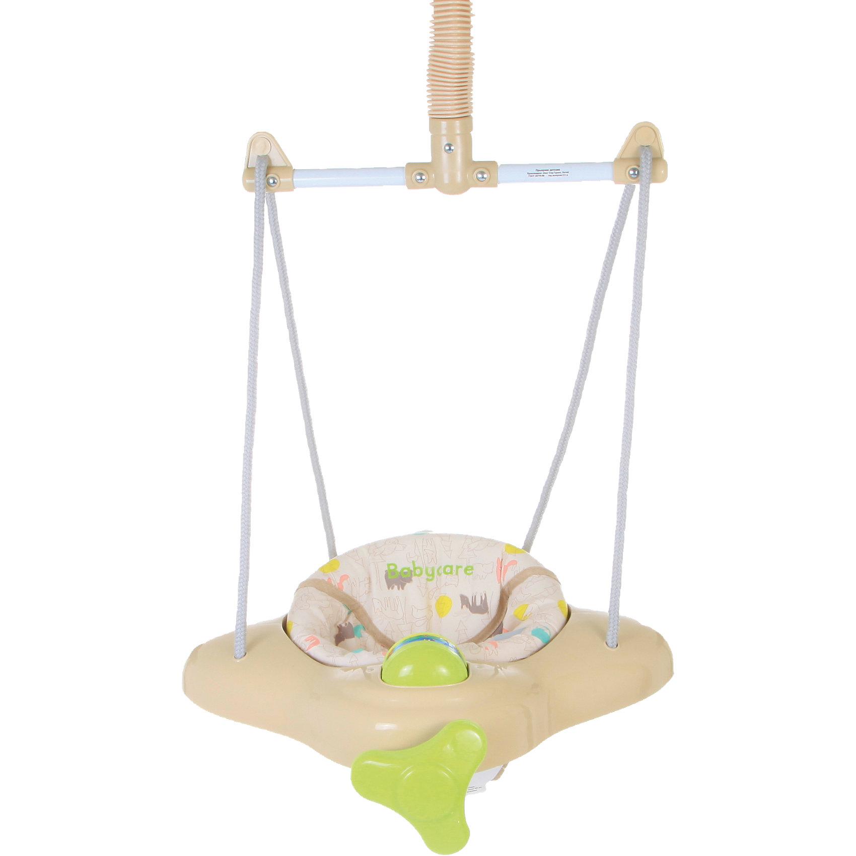 Прыгунки Aero, Baby Care, JasmineПрыгунки<br>Aero, Baby Care (Беби Кэа) – замечательные прыгунки, которые принесут столько радости малышу! С ними кроха научится прыгать, ориентироваться в пространстве и будет прекрасно развивать моторику ножек. Яркие и красивые прыгунки в виде забавного вертолетика легко и надежно крепятся в дверной проем. А механизм крепления фонендоскоп помогает надежно зафиксировать прыгунки. Дополнительным плюсом является то, что фиксированная пружина позволяет использовать прыгунки в качестве качелей. Вы легко сможете отрегулировать ремешки под рост и вес ребенка и ему будет очень весело и комфортно. Благодаря расположению креплений, сажать малыша в прыгунки очень удобно! Прыгунки всегда будут выглядеть как новые, ведь сиденье так легко снять и постирать.<br><br>Дополнительная информация:<br><br>- Прыгунки предназначены для малыша от 6-ти месяцев и до достижения 11 кг;<br>- Забавный дизайн;<br>- При фиксировании пружины превращаются в качели;<br>- Надежно крепятся к дверному косяку;<br>- Механизм крепления фонендоскоп;<br>- Высота сидения регулируется;<br>- Цвет: Jasmine;<br>- Размер: 46 х 45 х 15 см;<br>- Вес: 3 кг<br><br>Прыгунки Aero, Baby Care (Беби Кэа), Jasmine можно купить в нашем интернет-магазине.<br><br>Ширина мм: 600<br>Глубина мм: 440<br>Высота мм: 490<br>Вес г: 3000<br>Возраст от месяцев: 5<br>Возраст до месяцев: 11<br>Пол: Женский<br>Возраст: Детский<br>SKU: 4028920