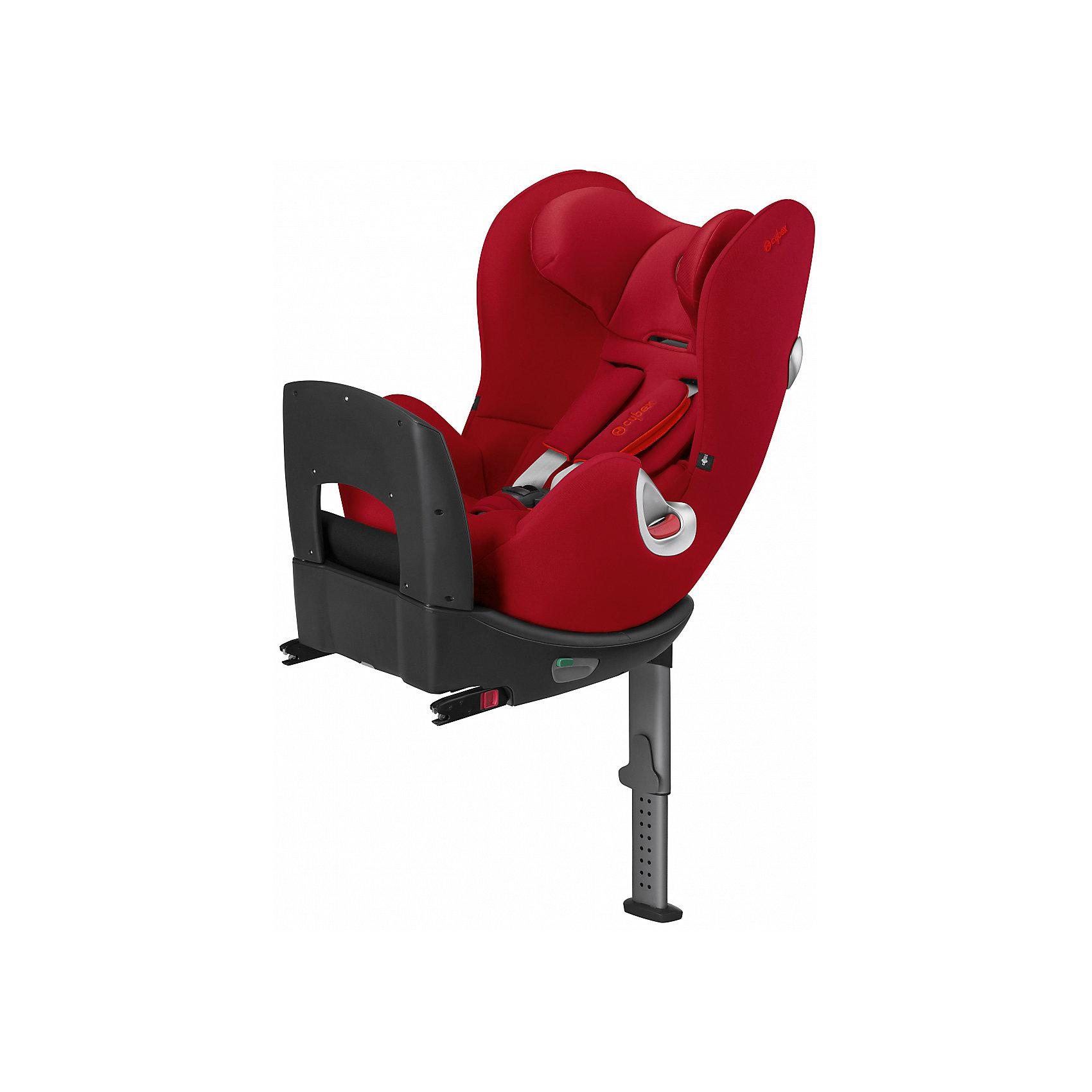 Автокресло детское, Sirona, 0-25 кг., Cybex, Hot SpicyВысокотехнологичное надежное автокресло позволит перевозить ребенка, не беспокоясь при этом о его безопасности. Оно предназначено для предназначено для детей весом от до 18 килограмм (можно использовать для новорожденных). Такое кресло обеспечит малышу не только безопасность, но и комфорт (регулируемый угол наклона и высота подголовника). Вместо пятиточечных ремней ребенок фиксируется при помощи защитного столика, не ограничивая ему свободы движений<br>Автокресло устанавливают по ходу движения, также есть вариант установки против движения. Такое кресло дает возможность свободно путешествовать, ездить в гости и при этом  быть рядом с малышом. Конструкция - очень удобная и прочная. Изделие произведено из качественных и безопасных для малышей материалов, оно соответствуют всем современным требованиям безопасности. Оно отлично показало себя на краш-тестах.<br> <br>Дополнительная информация:<br><br>цвет: красный;<br>материал: текстиль, пластик;<br>вес ребенка: до 18 кг;<br>поворотный механизм на 360 градусов;<br>регулируемый по высоте подголовник;<br>съемный чехол;<br>регулировка положения автокресла одной рукой;<br>регулируемый угол наклона;<br>можно использовать со штатными ремнями или с дополнительной базой;<br>регулируемый по высоте подголовник;<br>крепление по ходу движения или против;<br>система защиты от боковых ударов;<br>соответствие Европейскому стандарту безопасности ЕСЕ R44/04.<br><br>Автокресло Sirona, Hot Spicy, от компании Cybex можно купить в нашем магазине.<br><br>Ширина мм: 455<br>Глубина мм: 560<br>Высота мм: 700<br>Вес г: 19000<br>Цвет: красный<br>Возраст от месяцев: 0<br>Возраст до месяцев: 48<br>Пол: Унисекс<br>Возраст: Детский<br>SKU: 4028974