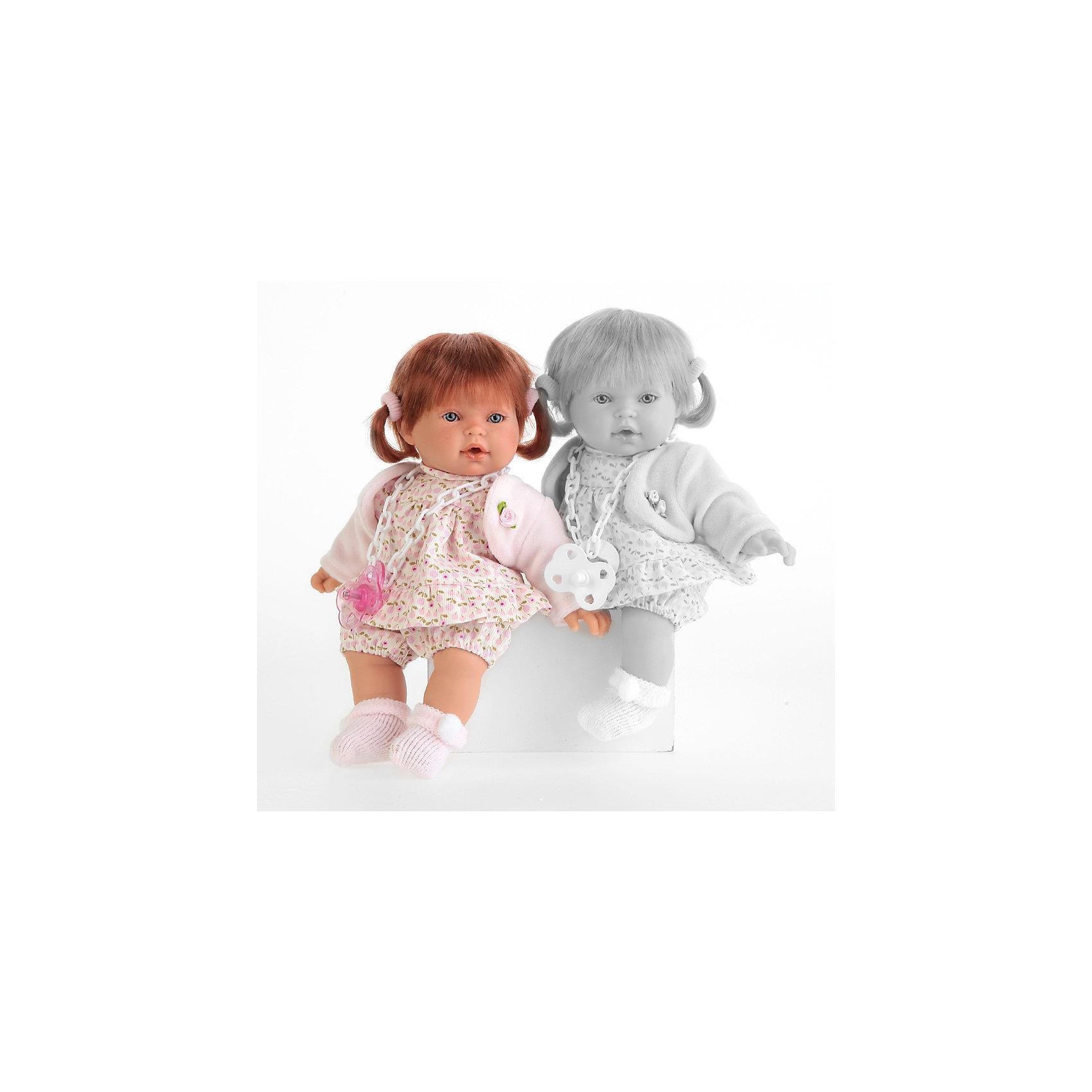 Кукла Сандра в розовом, 27 см, Munecas Antonio Juan