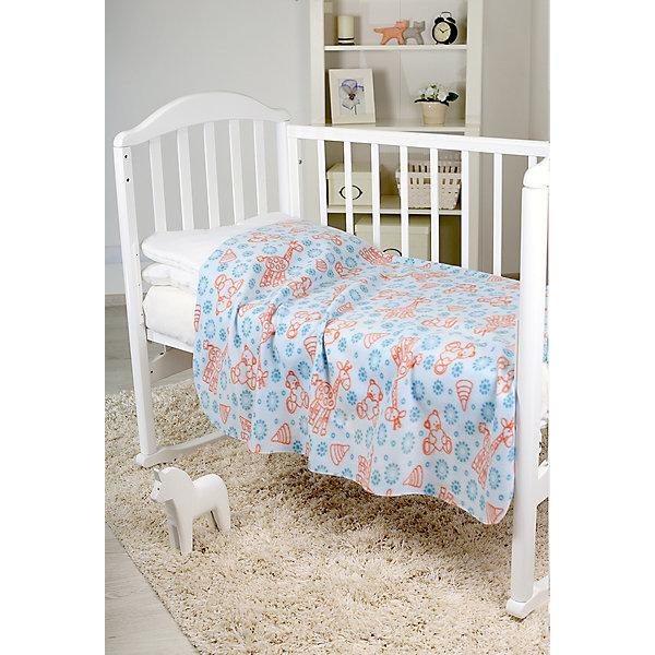 Плед-флисовый  2-х стор., Baby Nice, голубойПледы и покрывала<br>Теплый мягкий плед Baby Nice замечательно подойдет для детской спальни в качестве легкого одеяла или покрывала для кроватки, а также согреет малыша на улице в прохладную погоду. Двухсторонний плед имеет приятную голубую расцветку и украшен симпатичными рисунками в виде забавных жирафов. Выполнен из мягкого высококачественного флиса, края отделаны оверлоком. Изделия из этой ткани хорошо сохраняют тепло, впитывают лишнюю влагу, приятны на ощупь и не вызывают аллергии. <br><br>Дополнительная информация:<br><br>- Цвет: голубой.<br>- Материал: полиамид.<br>- Размер пледа: 118 х 100 см.<br>- Размер упаковки: 20 х 20 х 40 см.<br>- Вес: 0,5 кг.<br><br>Плед флисовый, Baby Nice, голубой, можно купить в нашем интернет-магазине.<br>Ширина мм: 200; Глубина мм: 200; Высота мм: 400; Вес г: 500; Возраст от месяцев: 0; Возраст до месяцев: 60; Пол: Унисекс; Возраст: Детский; SKU: 4032803;