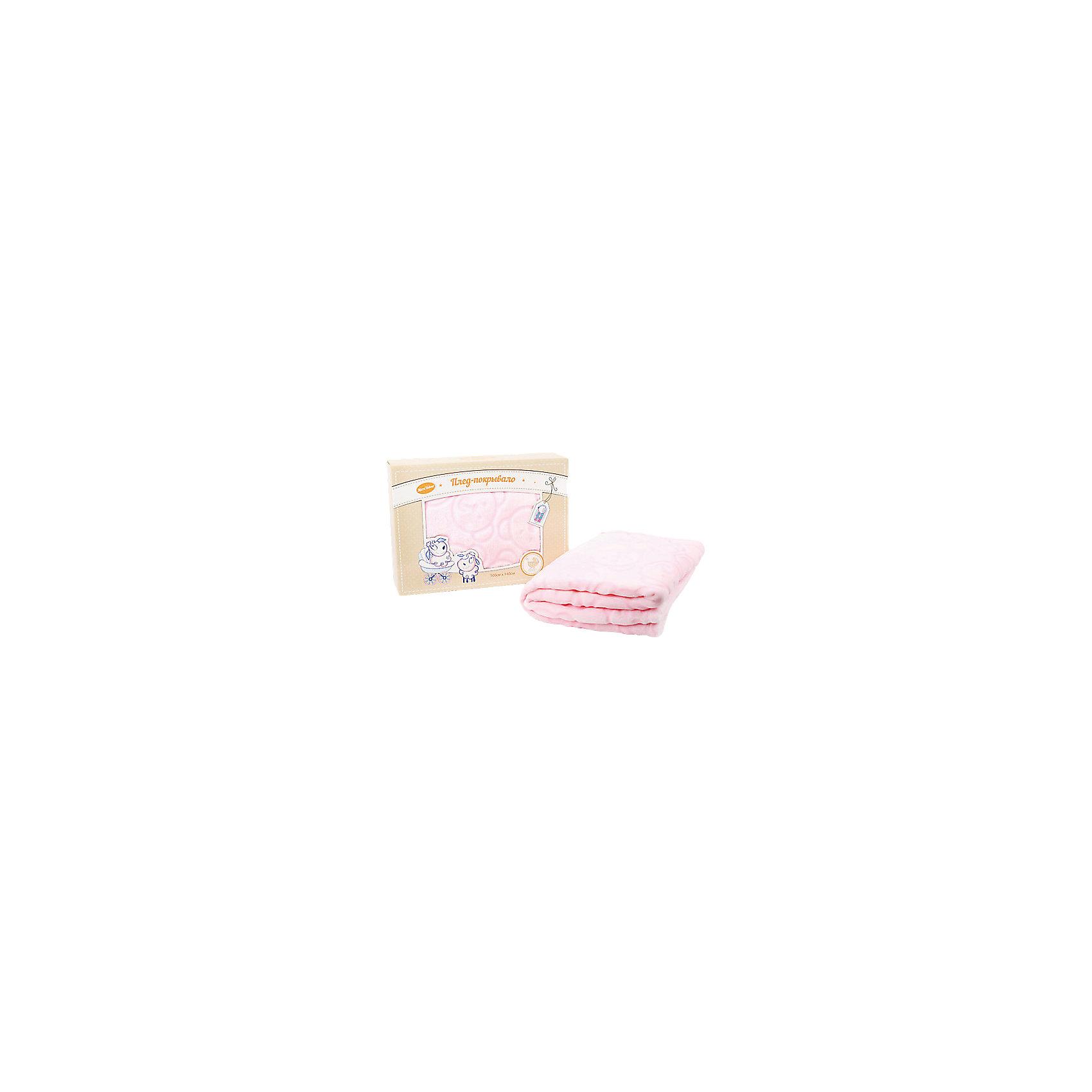 Плед-покрывала микро велюр, Baby Nice, розовыйОдеяла, пледы<br>Плед-покрывало Baby Nice замечательно подойдет для детской спальни в качестве легкого одеяла или покрывала для кроватки, а также согреет малыша на улице в прохладную погоду. Плед очень мягкий и нежный на ощупь, имеет приятную розовую расцветку и украшен симпатичными мишками. Выполнен из высококачественного гипоаллергенного материала, который хорошо поддерживает температурный баланс и способствует правильной терморегуляции, легко стирается не требует глажки.<br><br>Дополнительная информация:<br><br>- Цвет: розовый.<br>- Материал: 100% полиэстер.<br>- Размер пледа: 100 х 140 см.<br>- Размер упаковки: 30 х 20 х 50 см.<br>- Вес: 0,6 кг.<br><br>Плед-покрывало микро велюр, Baby Nice, розовый, можно купить в нашем интернет-магазине.<br><br>Ширина мм: 300<br>Глубина мм: 200<br>Высота мм: 50<br>Вес г: 500<br>Возраст от месяцев: 0<br>Возраст до месяцев: 60<br>Пол: Женский<br>Возраст: Детский<br>SKU: 4032806
