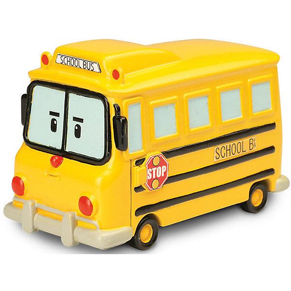 Игрушка Металлическая машинка Скулби, 6 см, Робокар ПолиИгрушки<br>Робокар Поли (Robocar Poli) -  добрый, интересный мультфильм про жителей удивительного города Брумстауна. В главных ролях команда отважных машинок-спасателей. Каждый малыш мечтает получить фигурки любимых героев в подарок! Школьный автобус Скулби - это новый персонаж. Он полюбился малышам за свою доброту и веселый нрав. Но Скулби понимает, какая важная миссия на него возложена. Он зорко следит за ситуацией на дороге, чтобы привезти детей в школу в целости и сохранности. А если заметил опасность, вызывает команду спасателей! Игрушка отлично сочетается со всеми игровыми наборами Робокар Поли  (Robocar Poli) с трассами. Играть со Скулби будет еще интереснее, ведь он точь в точь как в мультфильме! Маленькую металлическую машинку легко брать с собой, она очень прочная и при этом безопасная, так как не содержит острых углов. Соберите всю коллекцию из серии Робокар Поли (Robocar Poli) и пускайтесь с любимыми героями в захватывающие приключения!<br><br>Дополнительная информация:<br><br>- Небольшая металлическая машинка;<br>- Стойкая краска;<br>- Очень понравится поклоннику мультсериала Робокар Поли  (Robocar Poli);<br>- Машинка совместима с игровыми наборами;<br>- Прочная конструкция; <br>- Материал: металл;<br>- Размер машинки: 6 х 4 х 3,8 см;<br>- Вес: 160 г<br><br>Игрушку Металлическая машинка Скулби, 6 см, Робокар Поли  (Robocar Poli) можно купить в нашем интернет-магазине.<br>Ширина мм: 140; Глубина мм: 50; Высота мм: 170; Вес г: 160; Возраст от месяцев: 36; Возраст до месяцев: 84; Пол: Унисекс; Возраст: Детский; SKU: 4033638;