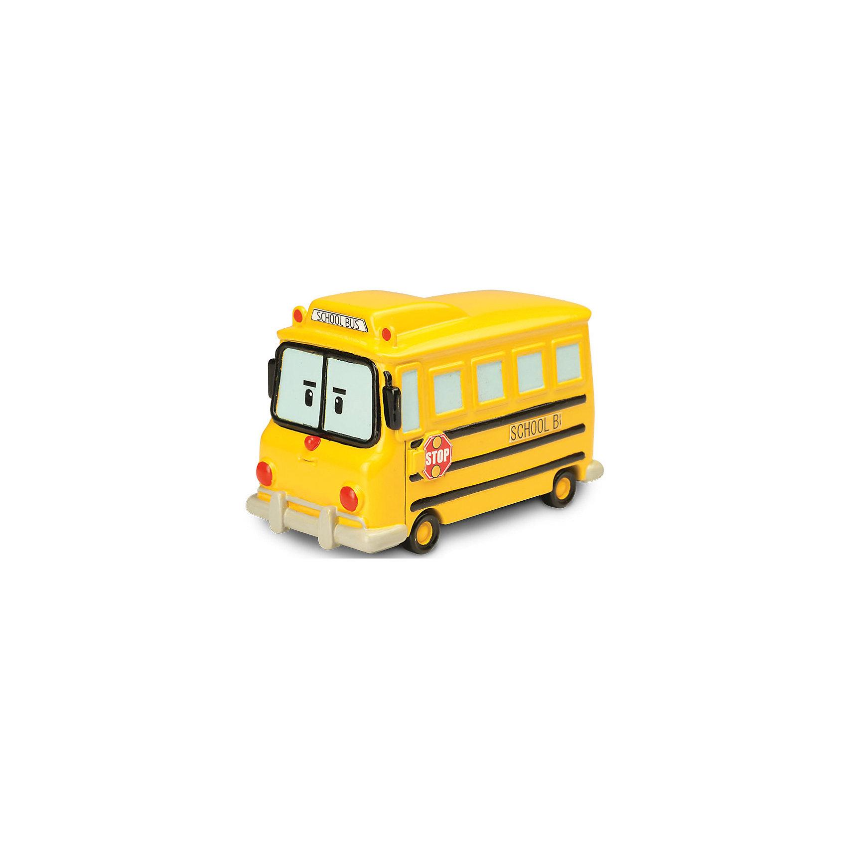 Игрушка Металлическая машинка Скулби, 6 см, Робокар ПолиРобокар Поли (Robocar Poli) -  добрый, интересный мультфильм про жителей удивительного города Брумстауна. В главных ролях команда отважных машинок-спасателей. Каждый малыш мечтает получить фигурки любимых героев в подарок! Школьный автобус Скулби - это новый персонаж. Он полюбился малышам за свою доброту и веселый нрав. Но Скулби понимает, какая важная миссия на него возложена. Он зорко следит за ситуацией на дороге, чтобы привезти детей в школу в целости и сохранности. А если заметил опасность, вызывает команду спасателей! Игрушка отлично сочетается со всеми игровыми наборами Робокар Поли  (Robocar Poli) с трассами. Играть со Скулби будет еще интереснее, ведь он точь в точь как в мультфильме! Маленькую металлическую машинку легко брать с собой, она очень прочная и при этом безопасная, так как не содержит острых углов. Соберите всю коллекцию из серии Робокар Поли (Robocar Poli) и пускайтесь с любимыми героями в захватывающие приключения!<br><br>Дополнительная информация:<br><br>- Небольшая металлическая машинка;<br>- Стойкая краска;<br>- Очень понравится поклоннику мультсериала Робокар Поли  (Robocar Poli);<br>- Машинка совместима с игровыми наборами;<br>- Прочная конструкция; <br>- Материал: металл;<br>- Размер машинки: 6 х 4 х 3,8 см;<br>- Вес: 160 г<br><br>Игрушку Металлическая машинка Скулби, 6 см, Робокар Поли  (Robocar Poli) можно купить в нашем интернет-магазине.<br><br>Ширина мм: 140<br>Глубина мм: 50<br>Высота мм: 170<br>Вес г: 160<br>Возраст от месяцев: 36<br>Возраст до месяцев: 84<br>Пол: Унисекс<br>Возраст: Детский<br>SKU: 4033638