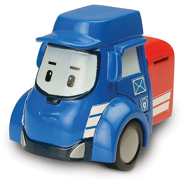 Игрушка Металлическая машинка Пости, 6 см, Робокар ПолиИгрушки<br>Робокар Поли (Robocar Poli) -  добрый, интересный мультфильм про жителей удивительного города Брумстауна. В главных ролях команда отважных машинок-спасателей. Каждый малыш мечтает получить фигурки любимых героев в подарок! Пости - это замечательный почтовый грузовичок. Чтобы его видели на дороге, его каска и ковш окрашены в яркий желтый цвет! Он очень ответственный, поэтому стремится довести почту точно в срок. Его красный прицеп с письмами видно издалека и он спешит порадовать всех хорошими вестями. Игрушка отлично сочетается со всеми игровыми наборами Робокар Поли  (Robocar Poli) с трассами. Играть с Пости будет еще интереснее, ведь он точь в точь как в мультфильме! Маленькую металлическую машинку легко брать с собой, она очень прочная и при этом безопасная, так как не содержит острых углов. Соберите всю коллекцию из серии Робокар Поли (Robocar Poli) и пускайтесь с любимыми героями в захватывающие приключения!<br><br>Дополнительная информация:<br><br>- Небольшая металлическая машинка;<br>- Стойкая краска;<br>- Очень понравится поклоннику мультсериала Робокар Поли  (Robocar Poli);<br>- Машинка совместима с игровыми наборами;<br>- Прочная конструкция; <br>- Материал: металл;<br>- Размер машинки: 6 х 4 х 3,8 см;<br>- Вес: 122 г<br><br>Игрушку Металлическая машинка Пости, 6 см, Робокар Поли  (Robocar Poli) можно купить в нашем интернет-магазине.<br><br>Ширина мм: 150<br>Глубина мм: 50<br>Высота мм: 160<br>Вес г: 122<br>Возраст от месяцев: 36<br>Возраст до месяцев: 84<br>Пол: Унисекс<br>Возраст: Детский<br>SKU: 4033642