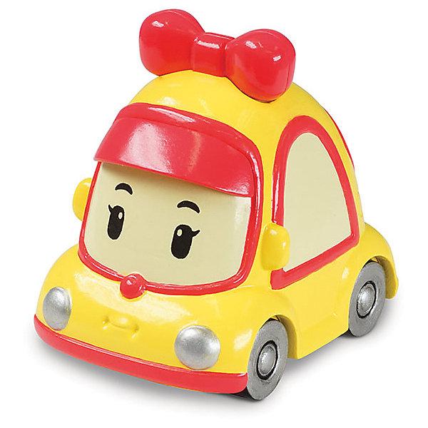 Игрушка Металлическая машинка Мини, 6 см, Робокар ПолиМашинки<br>Робокар Поли (Robocar Poli) -  добрый, интересный мультфильм про жителей удивительного города Брумстауна. В главных ролях команда отважных машинок-спасателей. Каждый малыш мечтает получить фигурки любимых героев в подарок! Мини - любимица девчонок и мальчишек. Этот яркий мини-автомобильчик с замечательным красным бантиком просто невозможно не заметить! Играть с Мини будет еще интереснее, ведь она точь в точь как в мультфильме! Маленькую металлическую машинку легко брать с собой, она очень прочная и при этом безопасная, так как не содержит острых углов. Соберите всю коллекцию из серии Робокар Поли (Robocar Poli) и пускайтесь с любимыми героями в захватывающие приключения!<br><br>Дополнительная информация:<br><br>- Небольшая металлическая машинка;<br>- Стойкая краска;<br>- Очень понравится поклоннику мультсериала Робокар Поли  (Robocar Poli);<br>- Машинка совместима с игровыми наборами;<br>- Прочная конструкция; <br>- Материал: металл;<br>- Размер машинки: 6 х 4 х 3,8 см;<br>- Вес: 112 г<br><br>Игрушку Металлическая машинка Мини, 6 см, Робокар Поли  (Robocar Poli) можно купить в нашем интернет-магазине.<br>Ширина мм: 140; Глубина мм: 40; Высота мм: 180; Вес г: 112; Возраст от месяцев: 36; Возраст до месяцев: 84; Пол: Унисекс; Возраст: Детский; SKU: 4033644;