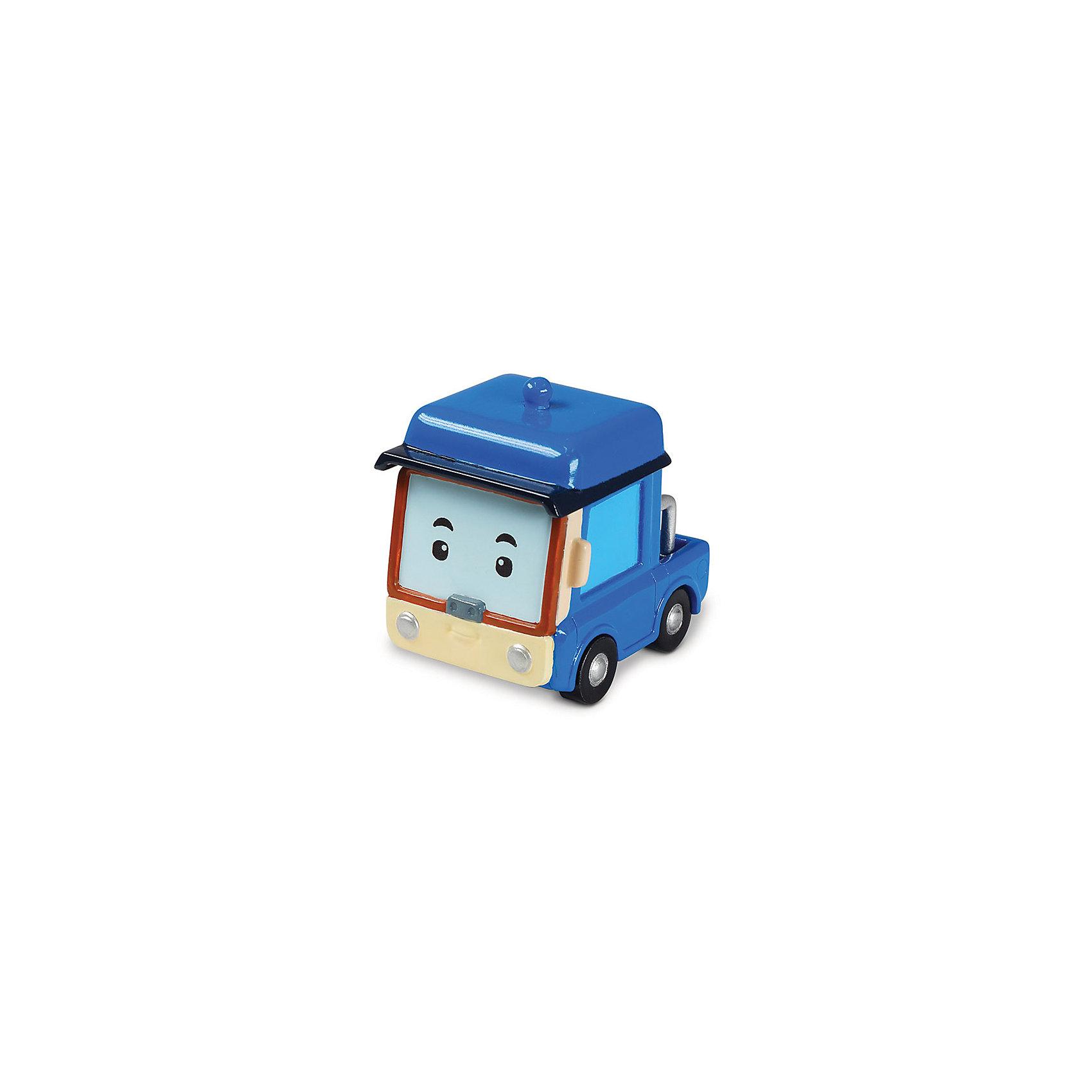 Игрушка Металлическая машинка Бэнни, 6 см, Робокар ПолиИгрушки<br>Робокар Поли (Robocar Poli) -  добрый, интересный мультфильм про жителей удивительного города Брумстауна. В главных ролях команда отважных машинок-спасателей. Каждый малыш мечтает получить фигурки любимых героев в подарок! Бэнни с виду очень скромный маленький погрузчик. Однако если кому-то нужна помощь он говор тут же ринуться в бой! Бэнни хочет стать настоящим спасателем когда вырастет. Играть с Бэнни будет еще интереснее, ведь она точь в точь как в мультфильме! Маленькую металлическую машинку легко брать с собой, она очень прочная и при этом безопасная, так как не содержит острых углов. Соберите всю коллекцию из серии Робокар Поли (Robocar Poli) и пускайтесь с любимыми героями в захватывающие приключения!<br><br>Дополнительная информация:<br><br>- Небольшая металлическая машинка;<br>- Стойкая краска;<br>- Очень понравится поклоннику мультсериала Робокар Поли  (Robocar Poli);<br>- Машинка совместима с игровыми наборами;<br>- Прочная конструкция; <br>- Материал: металл;<br>- Размер машинки: 6 х 4 х 3,8 см;<br>- Вес: 127 г<br><br>Игрушку Металлическая машинка Бэнни, 6 см, Робокар Поли  (Robocar Poli) можно купить в нашем интернет-магазине.<br><br>Ширина мм: 150<br>Глубина мм: 50<br>Высота мм: 160<br>Вес г: 127<br>Возраст от месяцев: 36<br>Возраст до месяцев: 84<br>Пол: Унисекс<br>Возраст: Детский<br>SKU: 4033645