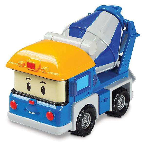 Игрушка Металлическая машинка Майки, 6 см, Робокар ПолиИгрушки<br>Робокар Поли (Robocar Poli) -  добрый, интересный мультфильм про жителей удивительного города Брумстауна. В главных ролях команда отважных машинок-спасателей. Каждый малыш мечтает получить фигурки любимых героев в подарок! Майки - это простой труженик бетономешалка. Чтобы его видели на дороге, его каска окрашена в яркий желтый цвет! Без его помощи ни одна дорога не будет построена. Майки серьезный и трудолюбивый. А в свободное время обязательно спешит на помощь к друзьям-спасателям! Игрушка отлично сочетается со всеми игровыми наборами Робокар Поли  (Robocar Poli) с трассами. Играть с Поком  будет еще интереснее, ведь он точь в точь как в мультфильме! Маленькую металлическую машинку легко брать с собой, она очень прочная и при этом безопасная, так как не содержит острых углов. Соберите всю коллекцию из серии Робокар Поли (Robocar Poli) и пускайтесь с любимыми героями в захватывающие приключения!<br><br>Дополнительная информация:<br><br>- Небольшая металлическая машинка;<br>- Стойкая краска;<br>- Очень понравится поклоннику мультсериала Робокар Поли  (Robocar Poli);<br>- Машинка совместима с игровыми наборами;<br>- Прочная конструкция; <br>- Материал: металл;<br>- Размер машинки: 6 х 4 х 3,8 см;<br>- Вес: 166 г<br><br>Игрушку Металлическая машинка Майки, 6 см, Робокар Поли  (Robocar Poli) можно купить в нашем интернет-магазине.<br>Ширина мм: 150; Глубина мм: 50; Высота мм: 160; Вес г: 166; Возраст от месяцев: 36; Возраст до месяцев: 84; Пол: Унисекс; Возраст: Детский; SKU: 4033647;