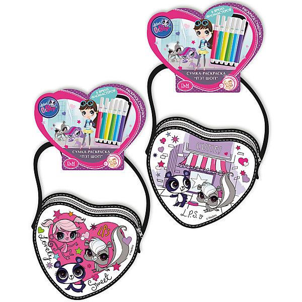 Набор для росписи сумочки Маленькие друзья, Littlest Pet Shop