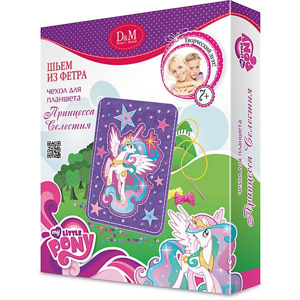 Шьем чехол для планшета Принцесса Селестия, My Little PonyMy little Pony<br>С набором Шьем чехол для планшета Принцесса Селестия, My Little Pony (Мой маленький пони) Вы сможете создать оригинальный чехол для планшета своими руками! Все фетровые детали имеют дырочки, чтобы их было легко сшивать безопасной пластиковой иголкой. Замечательный функциональный чехол для планшета с изображением Принцессы Селестии обязательно порадует многих маленьких любительниц мультсериала «Дружба – это чудо»! Набор способствует развитию воображения, вкуса и творческих способностей, мелкой моторики.<br><br>Комплектация: фетровые детали, нитки, пуговицы, стразы, безопасная игла, инструкция<br><br>Дополнительная информация:<br>-Серия: Мой маленький пони: Дружба – это чудо<br>-Вес в упаковке: 124 г<br>-Размеры в упаковке: 205х30х250 мм<br>-Материалы: фетр, текстиль, пластмасса, стразы<br><br>Набор Шьем чехол для планшета «Принцесса Селестия» станет отличным подарком для вашей дочки, особенно если она любит мультфильм Дружба – это чудо!.<br><br>Шьем чехол для планшета Принцесса Селестия, My Little Pony (Май литл Пони) можно купить в нашем магазине.<br><br>Ширина мм: 205<br>Глубина мм: 30<br>Высота мм: 250<br>Вес г: 124<br>Возраст от месяцев: 60<br>Возраст до месяцев: 144<br>Пол: Унисекс<br>Возраст: Детский<br>SKU: 4035253