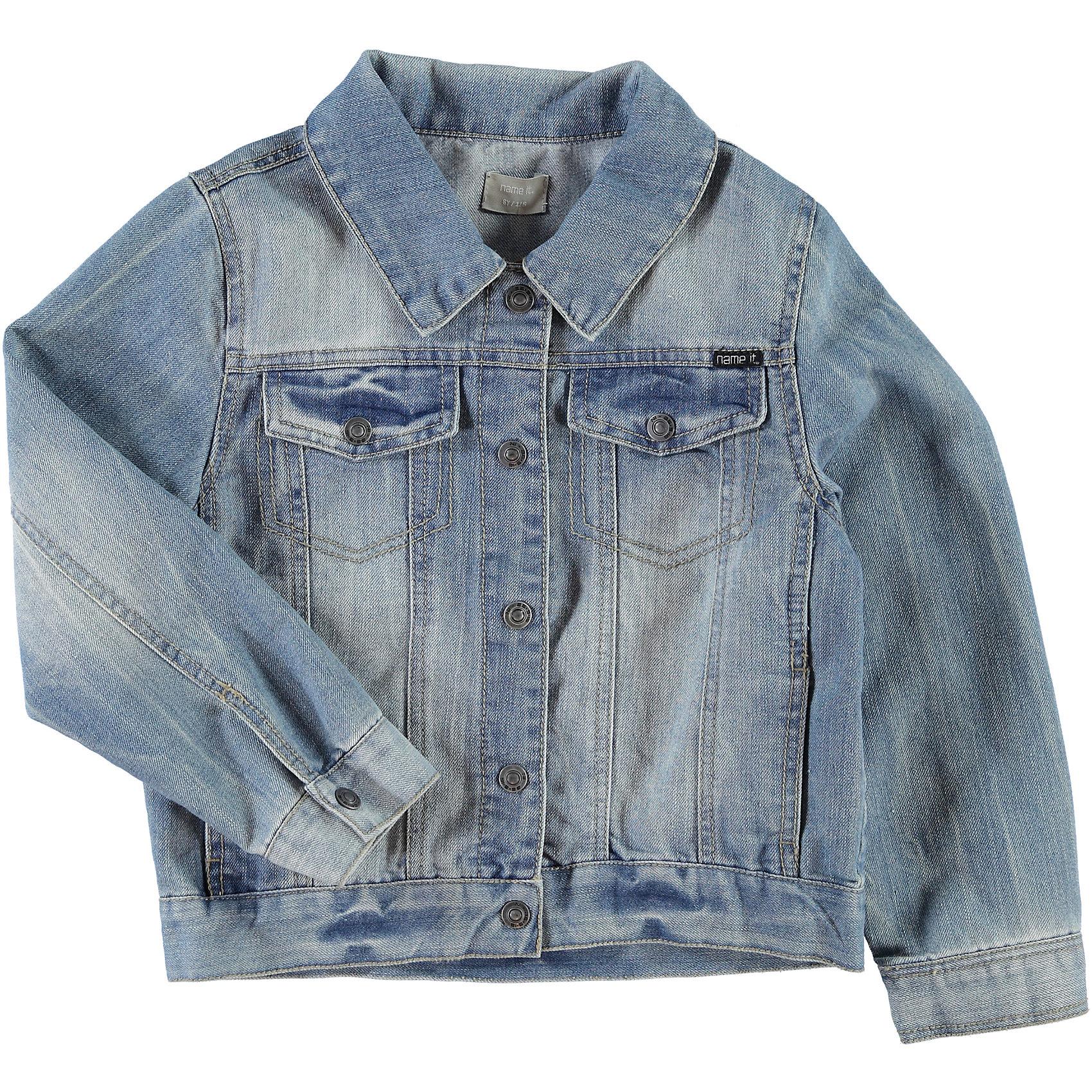 Джинсовая куртка для мальчика name it