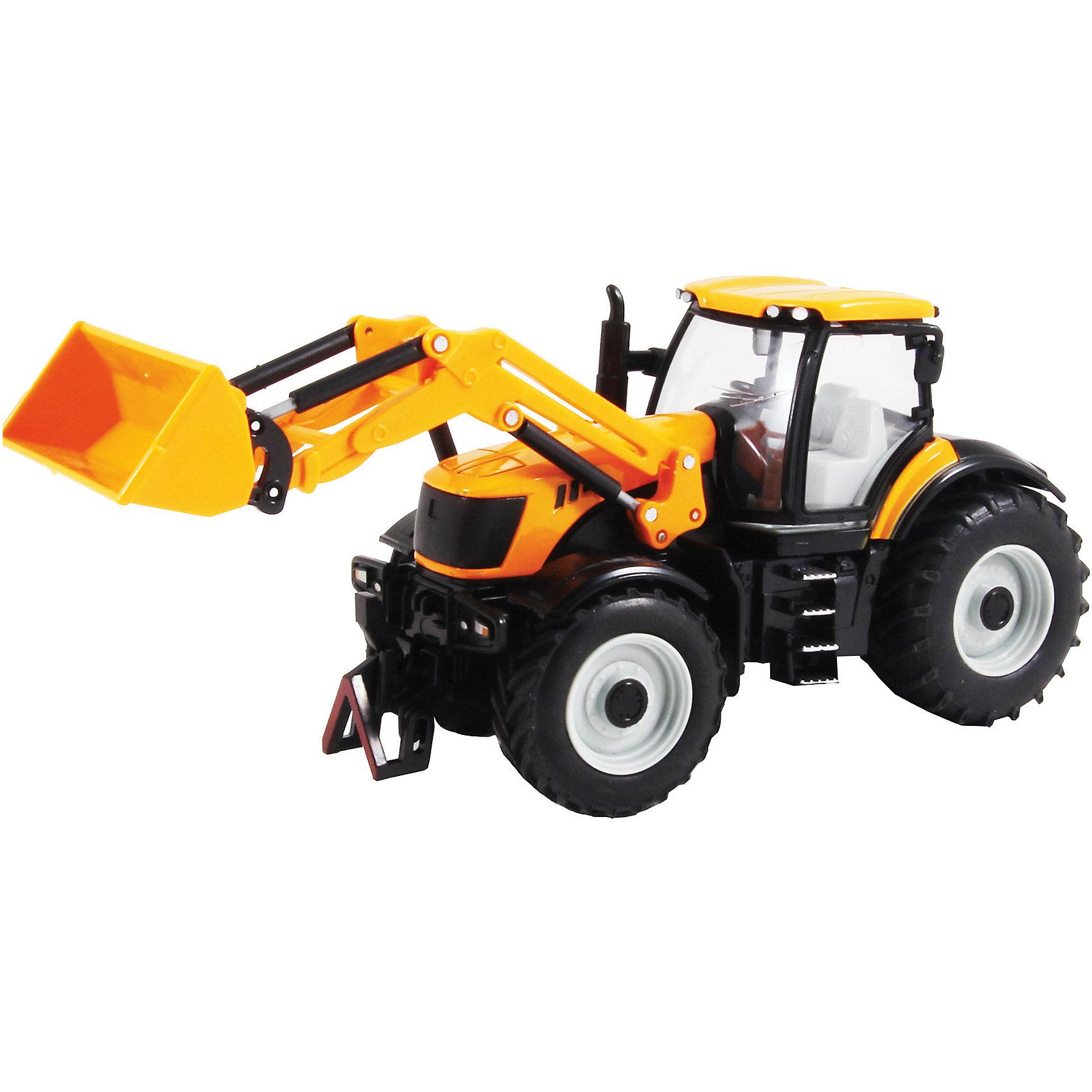 Трактор MC135, 1:30, в ассортименте,  KRUTTI
