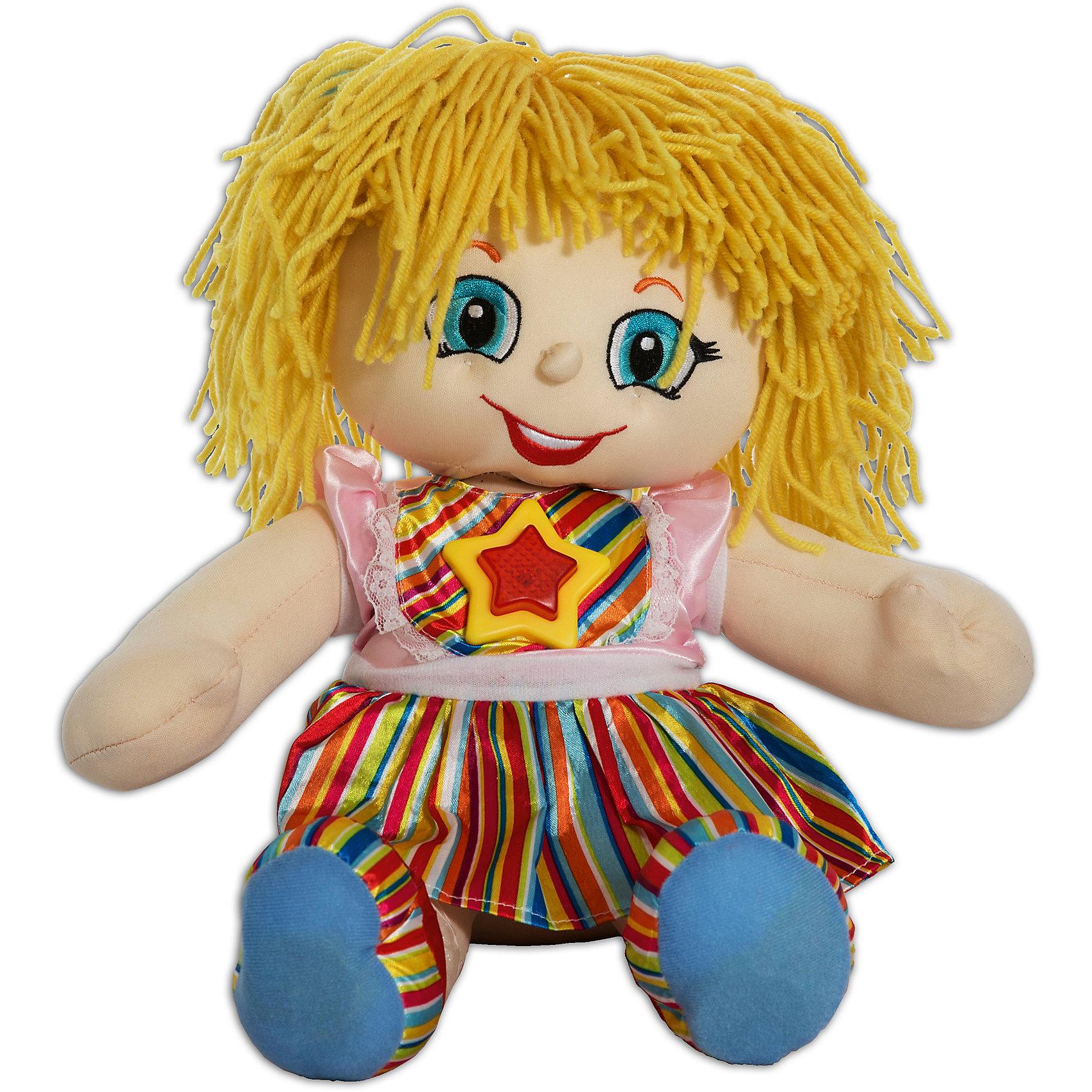 Интерактивная кукла Рыжик,с желтыми волосами, Смартик