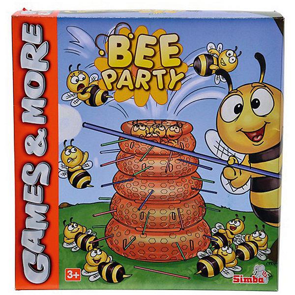 Игра Пчелы, SimbaХиты продаж<br>Игра Пчелы, Simba (Симба) – эта занимательная настольная игра надолго увлечет вашего малыша.<br>Игра настольная Пчелы -  это увлекательное путешествие в жизнь пчелиного улья. Настольная игра Пчелы Simba (Симба) порадует вашего ребенка и подарит ему много веселья, ведь цель игры - не только выиграть, но и повеселиться от души. Внутри коробки вас ждет пластиковый улей с дырочками, много палочек и маленькие пчелы. Каждый из игроков выбирает цвет палочек, вставляет их в улей. Сверху на улей высыпаются пчелы. Далее нужно по очереди вытягивать палочки. Задача — орудовать палочками согласно правилам, не допуская выпадения пчелок из улья. У какого игрока по итогу, после вытягивания палочек, упало больше всего пчел, тот и проиграл! Игра развивает внимательность, аккуратность, усидчивость, мелкую моторику. Кроме того, она просто-напросто очень нравится детям, так как игровой процесс увлекателен и необычен.<br><br>Дополнительная информация:<br><br>- В наборе: улей, палочки 3-х цветов, пчелы 26 шт.<br>- Количество игроков: до 3 человек<br>- Материал: картон, пластик<br>- Размер коробки: 25 х 26 х 9 см.<br>- Вес: 450 гр.<br><br>Игру Пчелы, Simba (Симба) можно купить в нашем интернет-магазине.<br><br>Ширина мм: 250<br>Глубина мм: 260<br>Высота мм: 90<br>Вес г: 450<br>Возраст от месяцев: 36<br>Возраст до месяцев: 192<br>Пол: Унисекс<br>Возраст: Детский<br>SKU: 4039815