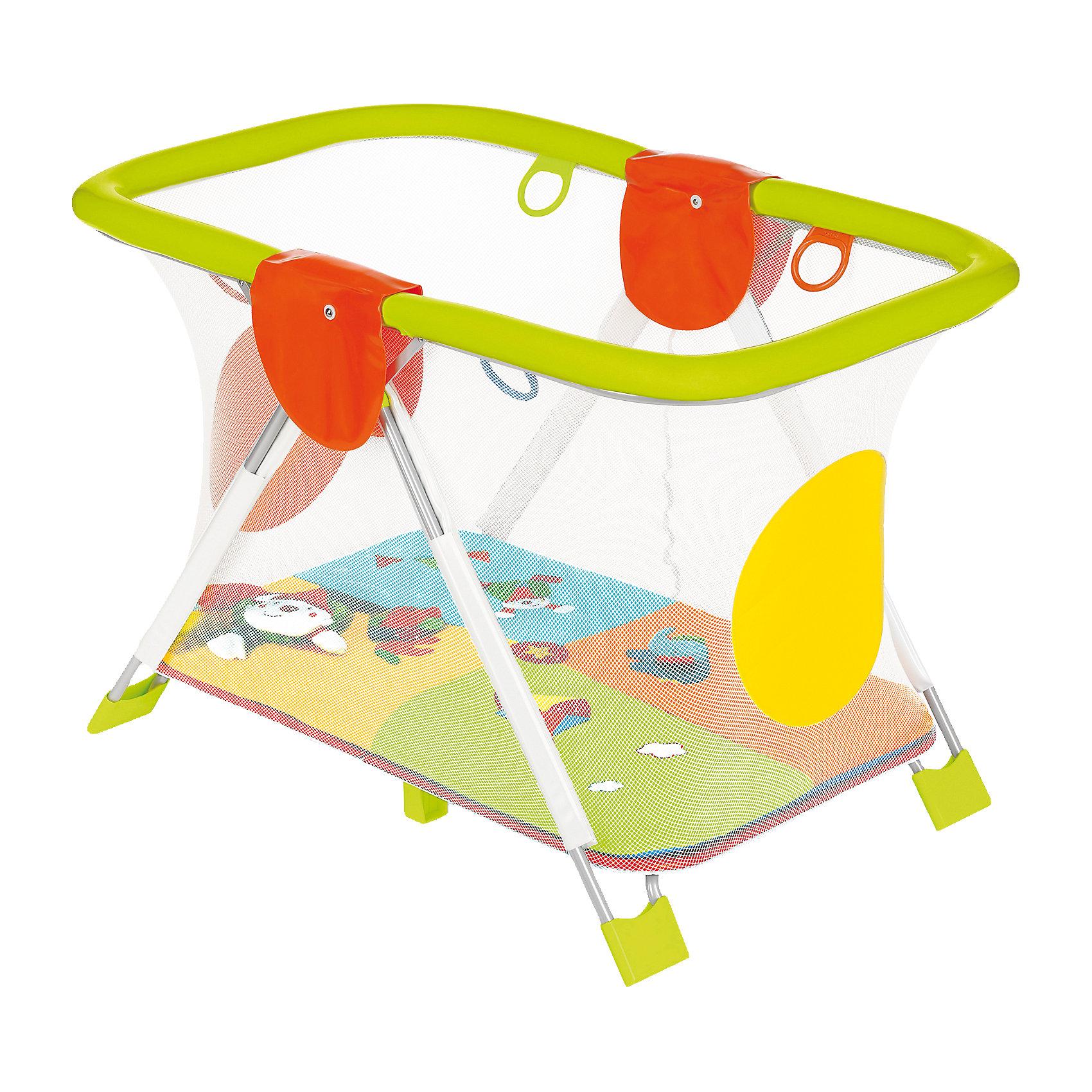 Манеж Soft Play MondoCirco, BreviЗамечательный манеж Soft & Play от Brevi (Бреви) - просто создан для активным малышей! Очень важно, чтобы вещи с которыми соприкасается малыш были безопасными, поэтому манеж Soft & Play выполнен из экологичных материалов и имеет соответствующий сертификат. Манеж красивый и функциональный, он дополнит интерьер детской и привлечет внимание малыша. Главной особенностью манежа Soft & Play, является то, что малышу никогда не будет скучно в нем! Коврик с разнообразными игрушками на дне манежа не только развлечет кроху, но и поможет ему развивать моторику и координацию движений. Манеж Soft & Play продуман до мелочей: он очень компактно складывается одним движением, и Вы можете даже не убирать из него игрушки. Тканевые элементы манежа очень легко постирать, благодаря чему манеж всегда будет выглядеть как новый! <br><br>Дополнительная информация:<br><br>- Материал Pполивинил хлорид без фталатов соответствует нормам 2005/84/EC;<br>- Множество развивающих игрушек;<br>- Красивый развивающий манеж;<br>- Бортики из сетки для прекрасного обзора и эффективной вентиляции;<br>- Мягкие края защитят от ударов;<br>- Четыре надежных блокиратора не позволят перевернуть манеж даже активному малышу;<br>- Четыре специальные ручки помогут малышу научиться вставать;<br>- Компактно складывается, удобен для хранения;<br>- Тканевые элементы легко стирать в стиральной машине;<br>- На дне манежа забавный игровой коврик;<br>- Дизайн: MondoCirco;<br>- Размер: 111 х 80 х 85 см;<br>- Размер в сложенном виде: 111 х 25 см;<br>- Вес: 10,8 кг<br><br>Манеж Soft & Play MondoCirco, Brevi (Бреви) можно купить в нашем интернет-магазине.<br><br>Ширина мм: 230<br>Глубина мм: 920<br>Высота мм: 1110<br>Вес г: 10900<br>Возраст от месяцев: 3<br>Возраст до месяцев: 36<br>Пол: Унисекс<br>Возраст: Детский<br>SKU: 4041155