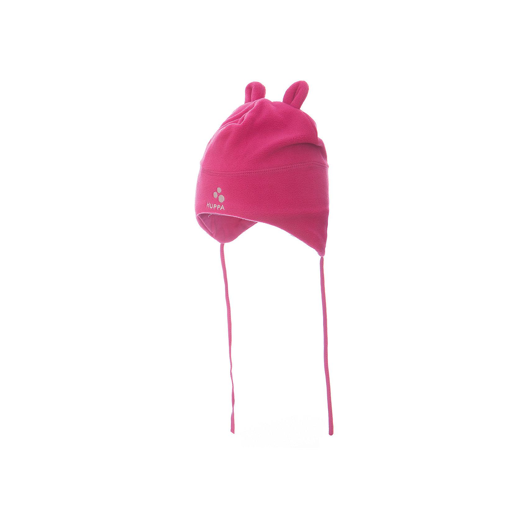 Флисовая шапка Huppa WinnieШапочки<br>Характеристики товара:<br><br>• цвет: розовый<br>• состав: 100% полиэстер (флис), подкладка - 100% хлопок<br>• температурный режим: от 0°С до +10°С<br>• завязки<br>• ушки<br>• можно надевать под капюшон<br>• декорирована вышивкой с логотипом<br>• комфортная посадка<br>• мягкий материал<br>• страна бренда: Эстония<br><br>Эта шапка обеспечит малышам тепло и комфорт. Она сделана из приятного на ощупь материала с мягким ворсом, поэтому изделие не колется и не натирает. Подкладка выполнена из дышащего и гипоаллергенного хлопка. Шапка очень симпатично смотрится, а дизайн и отделка добавляют ей оригинальности. Модель была разработана специально для малышей.<br><br>Одежда и обувь от популярного эстонского бренда Huppa - отличный вариант одеть ребенка можно и комфортно. Вещи, выпускаемые компанией, качественные, продуманные и очень удобные. Для производства изделий используются только безопасные для детей материалы. Продукция от Huppa порадует и детей, и их родителей!<br><br>Шапку для девочки от бренда Huppa (Хуппа) можно купить в нашем интернет-магазине.<br><br>Ширина мм: 89<br>Глубина мм: 117<br>Высота мм: 44<br>Вес г: 155<br>Цвет: розовый<br>Возраст от месяцев: 0<br>Возраст до месяцев: 6<br>Пол: Женский<br>Возраст: Детский<br>Размер: 39-41,47-49,43-45<br>SKU: 4041690