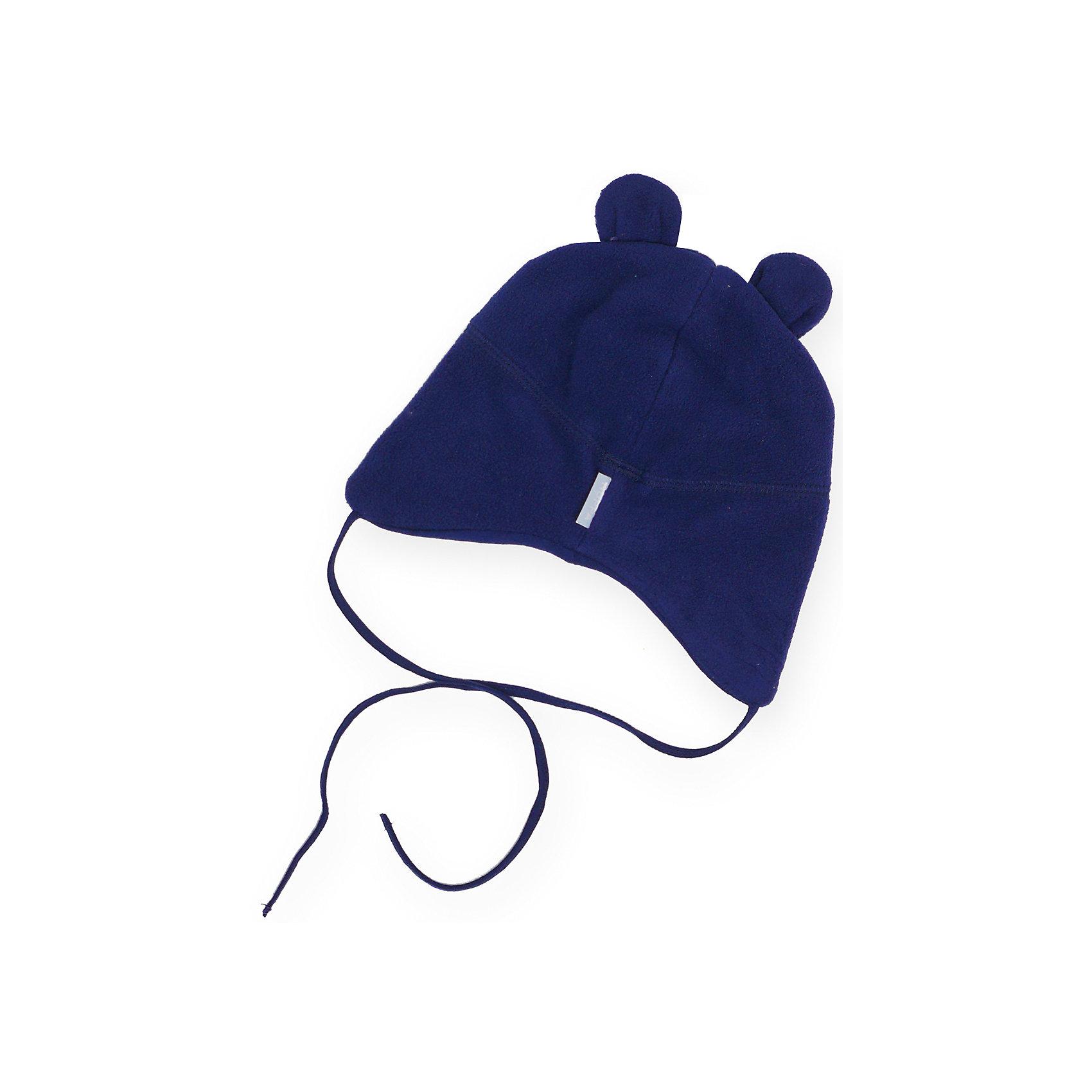 Шапка Winnie для мальчика HuppaШапочки<br>Характеристики товара:<br><br>• цвет: синий<br>• состав: 100% полиэстер (флис), подкладка - 100% хлопок<br>• температурный режим: от 0°С до +10°С<br>• завязки<br>• ушки<br>• можно надевать под капюшон<br>• декорирована вышивкой с логотипом<br>• комфортная посадка<br>• мягкий материал<br>• страна бренда: Эстония<br><br>Эта шапка обеспечит малышам тепло и комфорт. Она сделана из приятного на ощупь материала с мягким ворсом, поэтому изделие не колется и не натирает. Подкладка выполнена из дышащего и гипоаллергенного хлопка. Шапка очень симпатично смотрится, а дизайн и отделка добавляют ей оригинальности. Модель была разработана специально для малышей.<br><br>Одежда и обувь от популярного эстонского бренда Huppa - отличный вариант одеть ребенка можно и комфортно. Вещи, выпускаемые компанией, качественные, продуманные и очень удобные. Для производства изделий используются только безопасные для детей материалы. Продукция от Huppa порадует и детей, и их родителей!<br><br>Шапку для мальчика от бренда Huppa (Хуппа) можно купить в нашем интернет-магазине.<br><br>Ширина мм: 89<br>Глубина мм: 117<br>Высота мм: 44<br>Вес г: 155<br>Цвет: синий<br>Возраст от месяцев: 6<br>Возраст до месяцев: 12<br>Пол: Мужской<br>Возраст: Детский<br>Размер: 43-45,39-43,47-49<br>SKU: 4041694