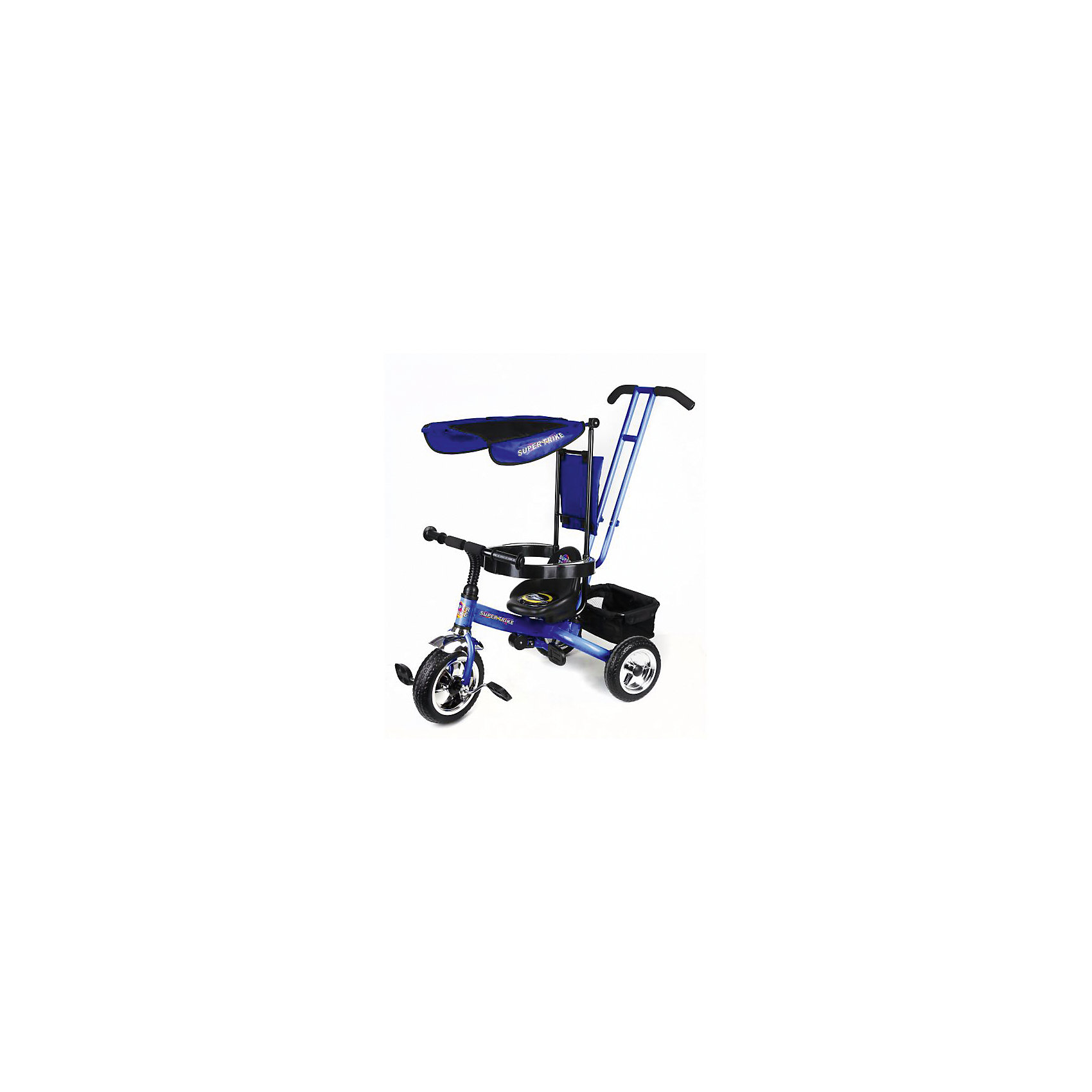 Super Trike Трехколесный велосипед, синий