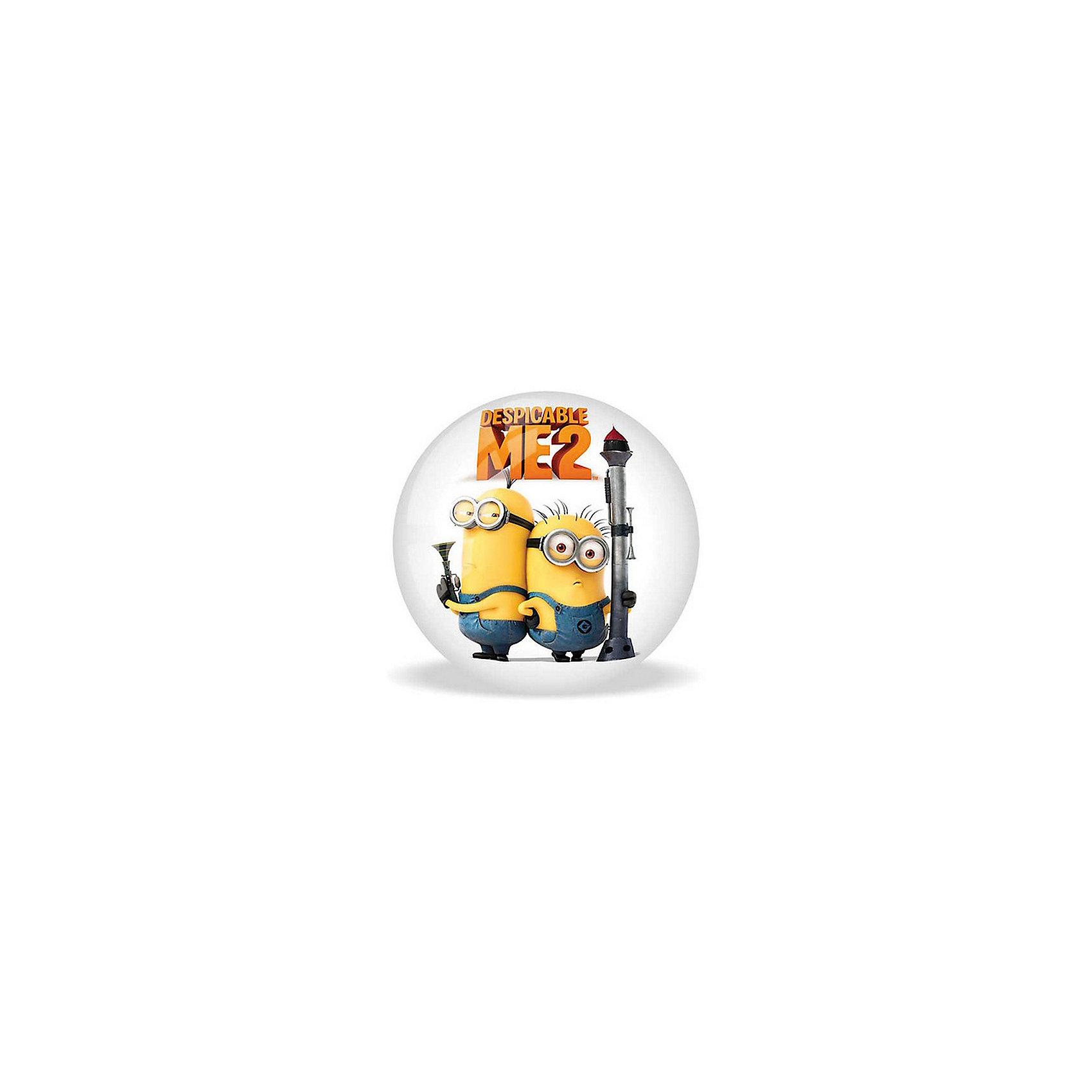 Мяч Гадкий Я- 2, 23 см,  MondoКрасивый, яркий мячик  с героями известного мультфильма обязательно понравится ребенку. Он выполнен из высококачественной прочной резины, при нанесении изображения использованы безопасные для детей красители, имеет удобный для игр размер. Игра в мяч развивает координацию движений, моторику рук и ног, стимулирует детей к физической активности и просто приносит множество улыбок и веселых мгновений.<br><br>Дополнительная информация:<br><br>- Материал: резина.<br>- Цвет: голубой, желтый, белый.<br>- Рисунок Гадкий Я- 2<br>- Размер: 23 см. <br><br>Мяч Гадкий Я- 2, 23 см,  Mondo можно купить в нашем магазине.<br><br>Ширина мм: 230<br>Глубина мм: 230<br>Высота мм: 230<br>Вес г: 140<br>Возраст от месяцев: 36<br>Возраст до месяцев: 84<br>Пол: Унисекс<br>Возраст: Детский<br>SKU: 4042927