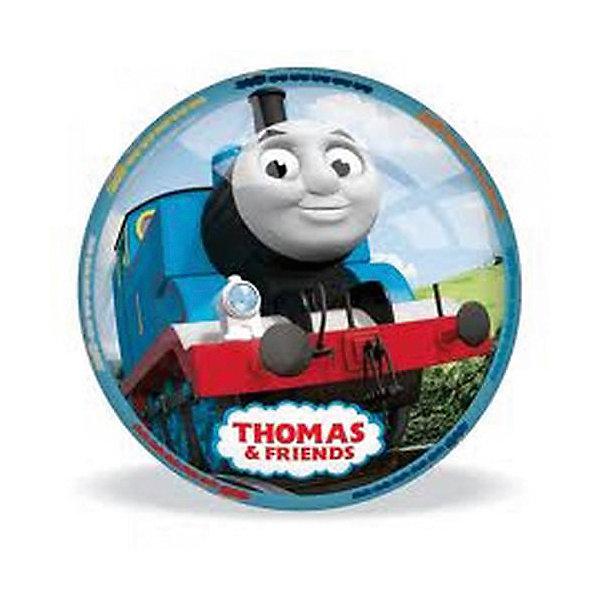 Мяч Томас, 11 см, MondoТомас и его друзья<br>Красивый, яркий мячик  с героями известного мультфильма  «Паровозик Томас и его друзья» приведет в восторг любого ребенка. Он выполнен из высококачественной прочной резины, при нанесении изображения использованы безопасные для детей красители. Мячик имеет небольшой размер, поэтому, подходит  для игр с самыми маленькими детьми. Игра в мяч развивает координацию движений, моторику рук и ног, стимулирует детей к физической активности и просто приносит множество улыбок и веселых мгновений.<br><br>Дополнительная информация:<br><br>- Материал: резина.<br>- Цвет: жёлтый, голубой, белый.<br>- Рисунок Томас.<br>- Размер: 11 см. <br>ВНИМАНИЕ! Данный артикул представлен в разных вариантах исполнения. К сожалению, заранее выбрать определенный вариант невозможно. При заказе нескольких мячей возможно получение одинаковых.<br><br>Мяч Томас, 11 см, Mondo можно купить в нашем магазине.<br>Ширина мм: 110; Глубина мм: 110; Высота мм: 110; Вес г: 140; Возраст от месяцев: 36; Возраст до месяцев: 84; Пол: Унисекс; Возраст: Детский; SKU: 4042934;