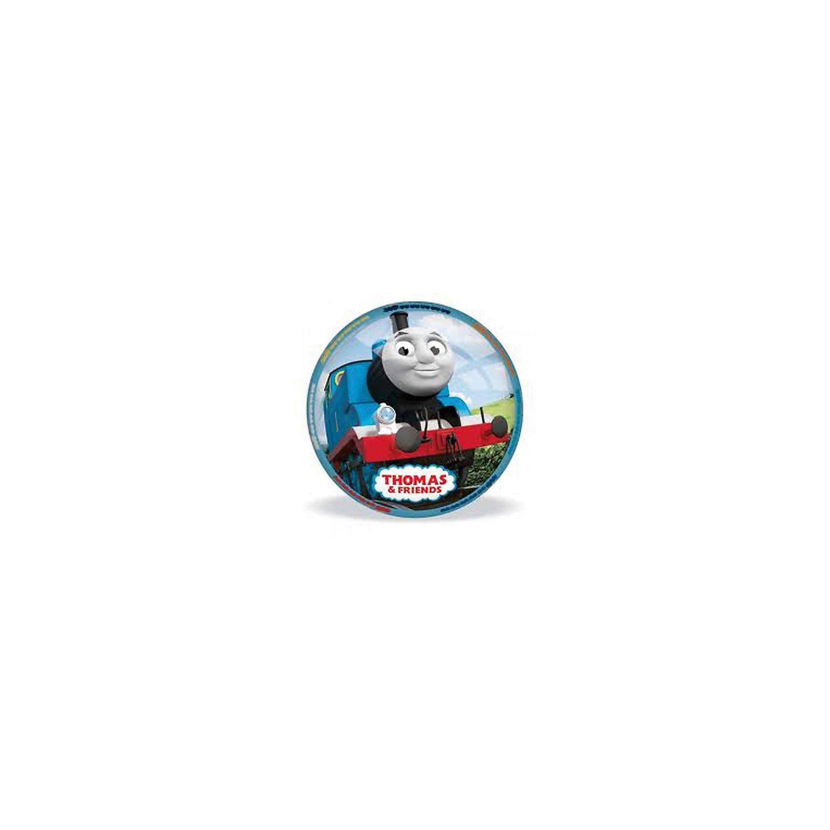 Мяч Томас, 11 см, MondoКрасивый, яркий мячик  с героями известного мультфильма  «Паровозик Томас и его друзья» приведет в восторг любого ребенка. Он выполнен из высококачественной прочной резины, при нанесении изображения использованы безопасные для детей красители. Мячик имеет небольшой размер, поэтому, подходит  для игр с самыми маленькими детьми. Игра в мяч развивает координацию движений, моторику рук и ног, стимулирует детей к физической активности и просто приносит множество улыбок и веселых мгновений.<br><br>Дополнительная информация:<br><br>- Материал: резина.<br>- Цвет: жёлтый, голубой, белый.<br>- Рисунок Томас.<br>- Размер: 11 см. <br>ВНИМАНИЕ! Данный артикул представлен в разных вариантах исполнения. К сожалению, заранее выбрать определенный вариант невозможно. При заказе нескольких мячей возможно получение одинаковых.<br><br>Мяч Томас, 11 см, Mondo можно купить в нашем магазине.<br><br>Ширина мм: 110<br>Глубина мм: 110<br>Высота мм: 110<br>Вес г: 140<br>Возраст от месяцев: 36<br>Возраст до месяцев: 84<br>Пол: Унисекс<br>Возраст: Детский<br>SKU: 4042934