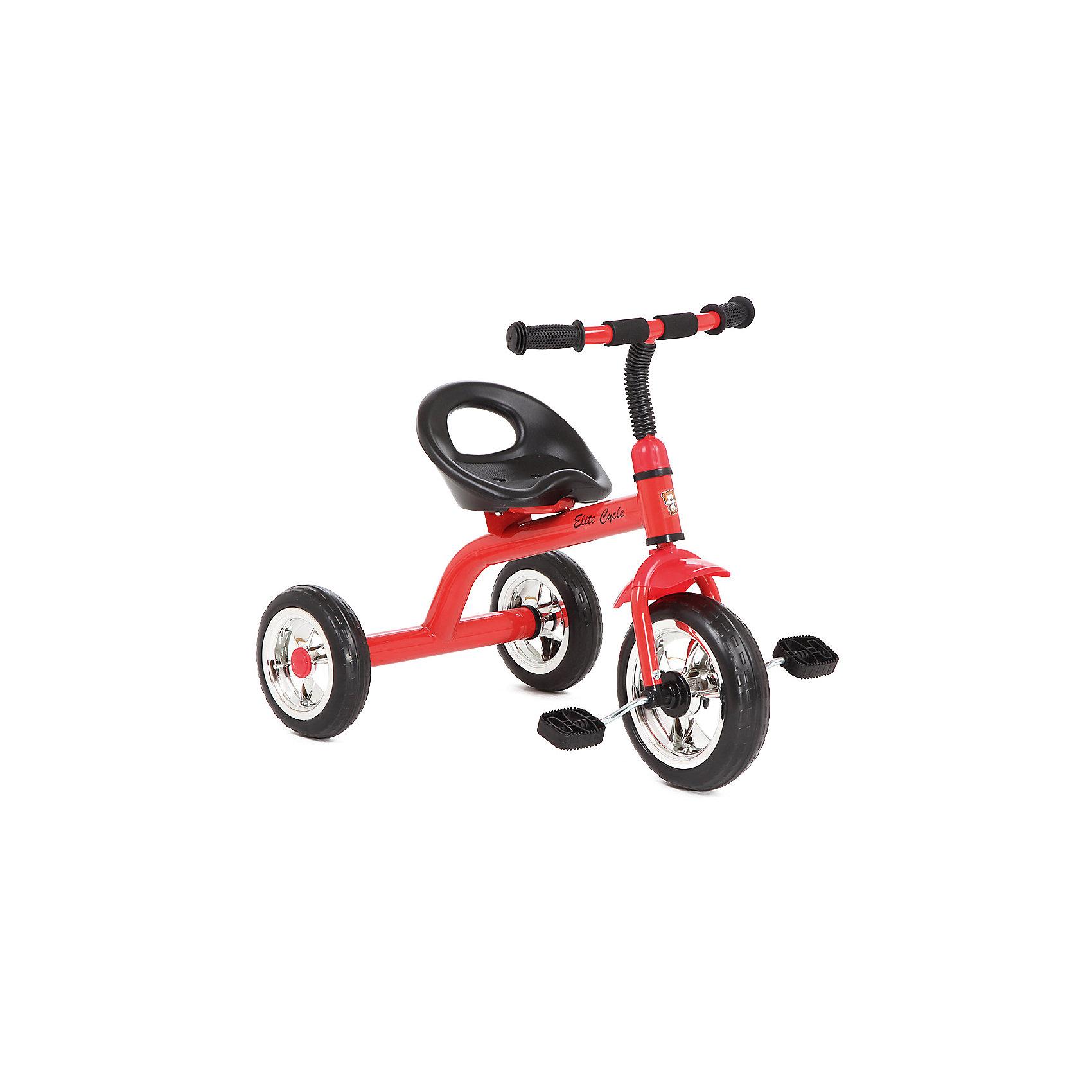 Велосипед трехколесный, красный, Элит