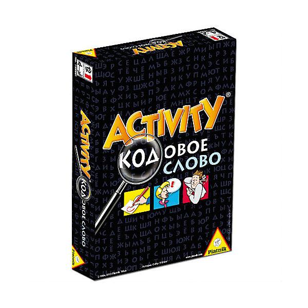 Игра Activity - кодовое слово,  PiatnikНастольные игры для всей семьи<br>Игра Activity - кодовое слово,  Piatnik - увлекательная популярная игра, завоевавшая множество поклонников во всем мире. В игре могут участвовать от 4 до 16 игроков, которые делятся на команды и поочередно делают ходы. В свой ход команда выбирает игрока, который вытягивает карточку и объясняет слово, загаданное на ней, а остальные игроки команды пытаются его отгадать. Способ описания загаданного слова может быть разным в зависимости от задания, выпавшего на кубике: показать пантомиму, нарисовать или объяснить. На объяснение дается ровно одна минута, специальные песочные часы, входящие в комплект, отсчитывает время. Отличие этой игры от других подобных версий состоит в наличии кодового слова. Теперь выигравший раунд участник команды может попытаться узнать букву из кодового слова. Победительницей становится команда, которая отгадает кодовое слово. Продолжительность партии: до 60 минут. Игра развивает логическое мышление, творческие способности, коммуникативные навык и умение работать в команде.<br><br>Дополнительная информация:<br><br>- В комплекте: 110 карточек с 6 словами на каждой, карандаш, блокнот, песочные часы (7,5 см. в высоту), кубик, правила игры на русском языке. <br>- Материал: картон, пластик.<br>- Размер одной карточки: 6 х 9 см.<br>- Размер упаковки: 17 х 23,5 х 4 см.<br>- Вес: 0,31 кг.<br><br>Игру Activity Lifestyle, Piatnik, можно купить в нашем интернет-магазине.<br><br>Ширина мм: 30<br>Глубина мм: 120<br>Высота мм: 170<br>Вес г: 310<br>Возраст от месяцев: 144<br>Возраст до месяцев: 216<br>Пол: Унисекс<br>Возраст: Детский<br>SKU: 4043679