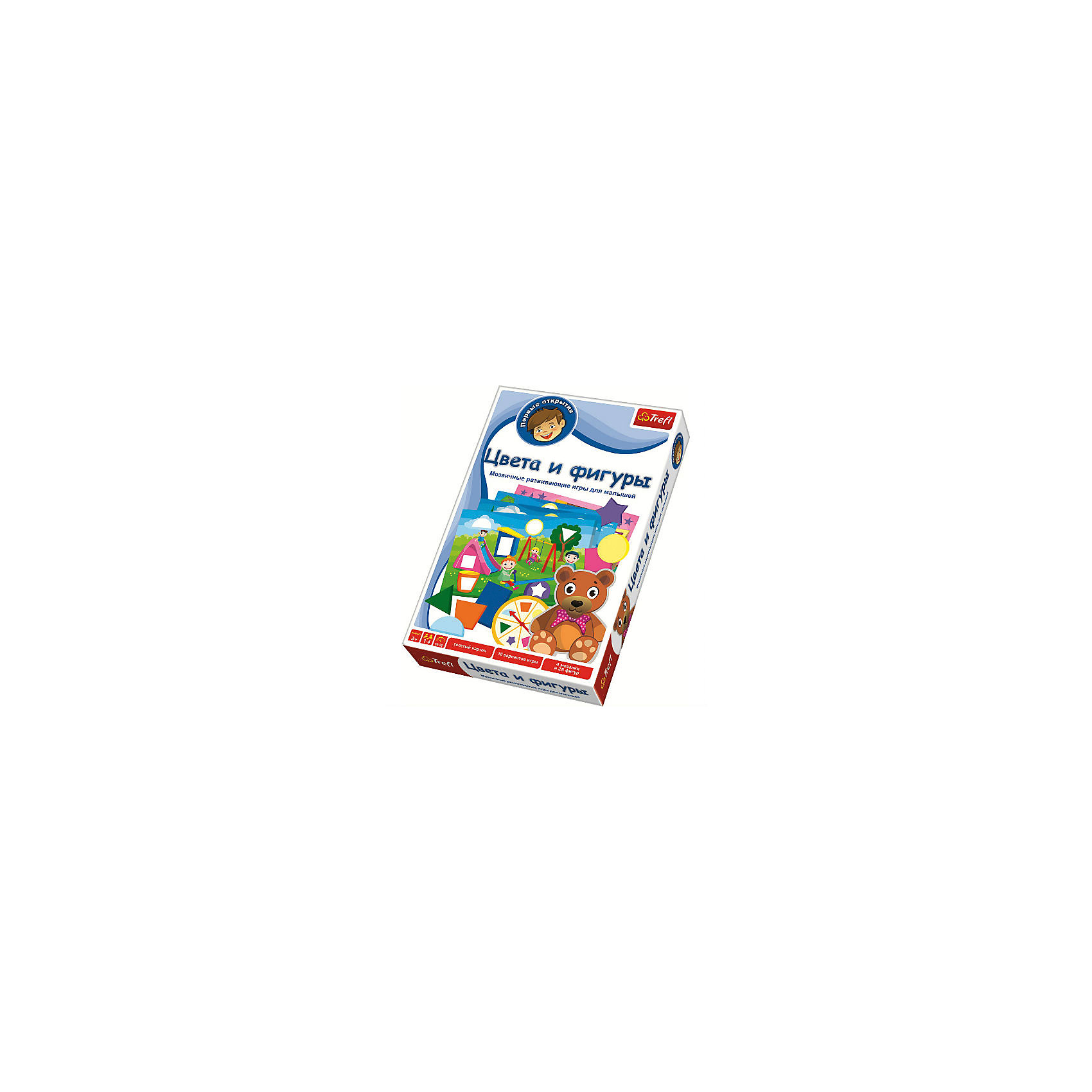 Trefl Игра Цвета и фигуры,  Trefl trefl цвета и фигуры