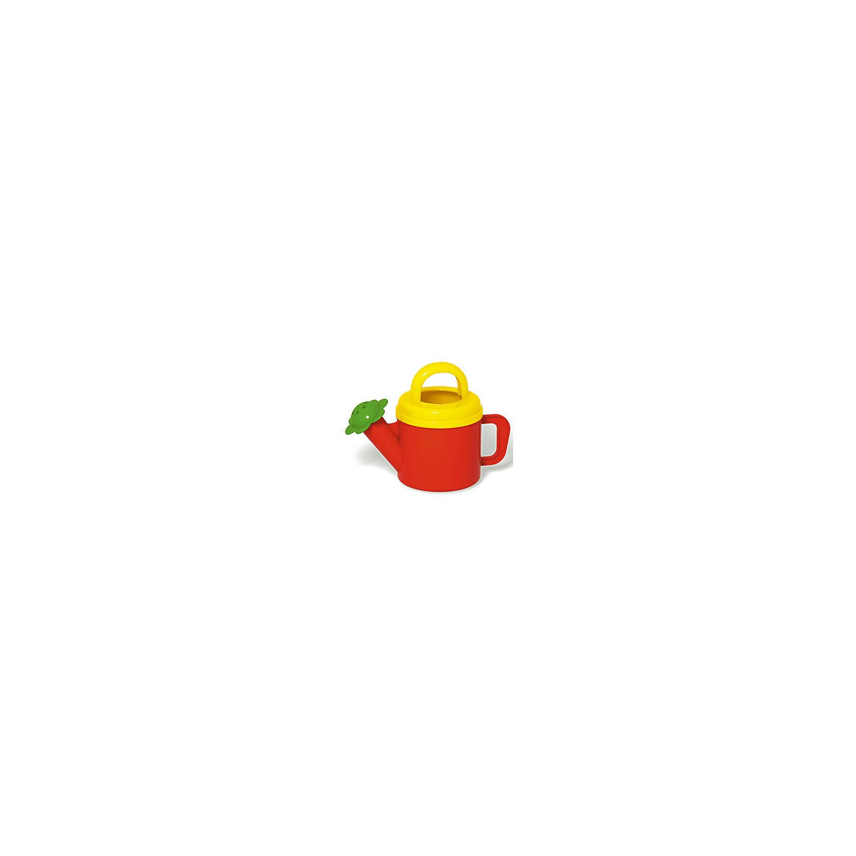 Лейка 0,4 л., СтелларИграем в песочнице<br>Все дети очень любят игры с водой. Эта яркая леечка обязательно привлечет внимание вашего ребенка. Ее можно брать с собой на пляж, поливать из нее цветы или просто весело плескаться в ванне. Игрушка выполнена из высококачественного пластика, не имеет острых углов, безопасна для детей. <br><br>Дополнительная информация:<br><br>- Материал: пластик.<br>- Цвет: красный, желтый, зеленый.<br>- Объем: 0,4 л.<br><br>Лейку 0,4 л., Стеллар, можно купить в нашем магазине.<br><br>Ширина мм: 80<br>Глубина мм: 130<br>Высота мм: 180<br>Вес г: 290<br>Возраст от месяцев: 36<br>Возраст до месяцев: 72<br>Пол: Унисекс<br>Возраст: Детский<br>SKU: 4044369