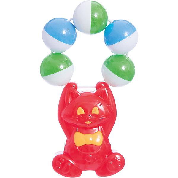 Погремушка Акробатик, СтелларИгрушки для новорожденных<br>Милая погремушка обязательно заинтересует малышей. Ребенок будет перебирать пальчиками яркие шарики, развивая при этом мелкую моторику и цветовосприятие. Погремушка изготовлена из высококачественных экологичных материалов безопасных для детей.<br><br>Дополнительная информация:<br><br>- Материал: пластик.<br>- Цвет: красный, желтый, зеленый, розовый. <br>- Размер: 12 см. <br><br>Погремушку Акробатик, Стеллар, можно купить в нашем магазине.<br><br>Ширина мм: 70<br>Глубина мм: 30<br>Высота мм: 140<br>Вес г: 330<br>Возраст от месяцев: 0<br>Возраст до месяцев: 12<br>Пол: Унисекс<br>Возраст: Детский<br>SKU: 4044373