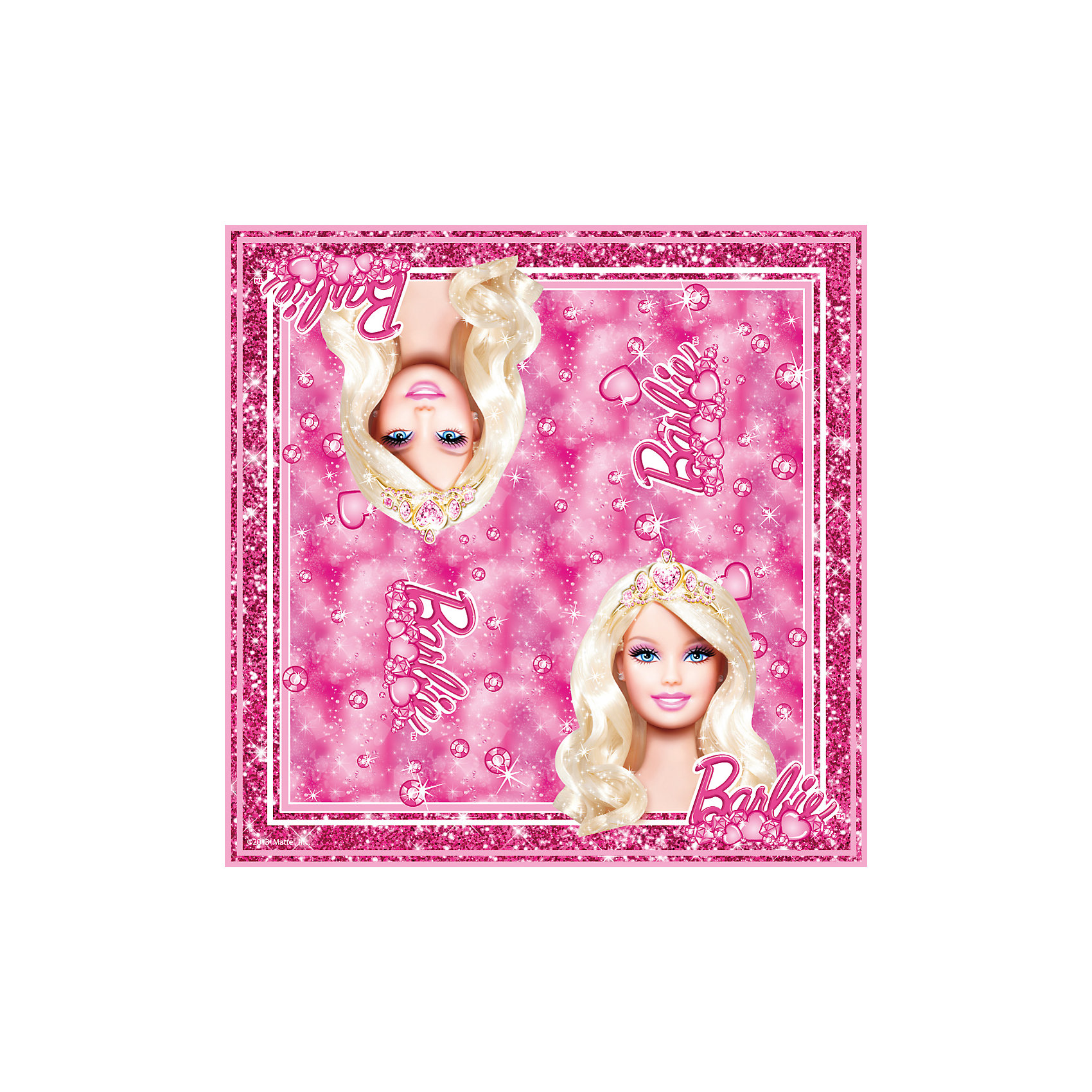 Росмэн Салфетки Принцесса 33*33 см (20 шт), Barbie росмэн салфетки миньоны 33 33 см 20 шт