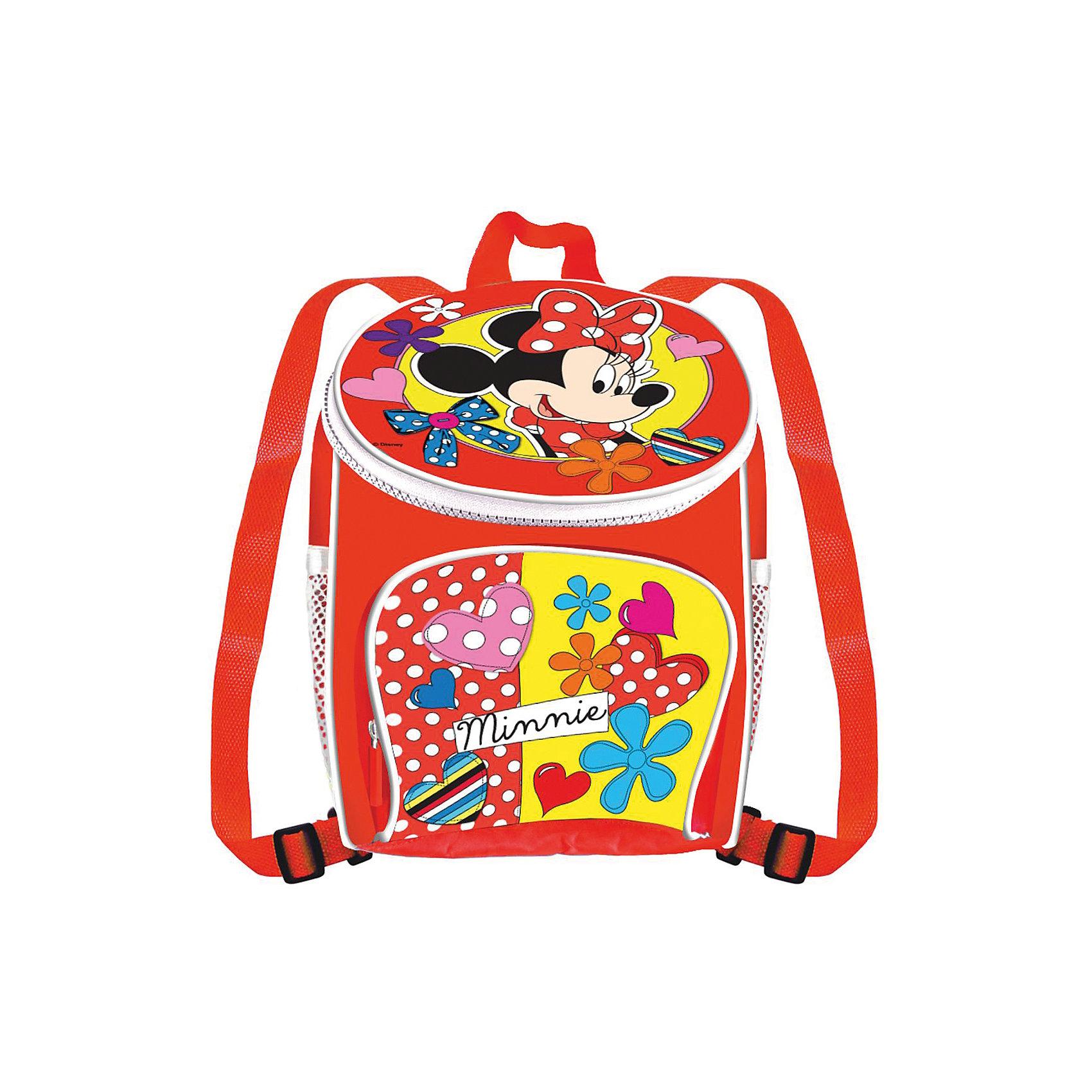 Набор для росписи рюкзака Минни МаусМинни Маус<br>Набор для росписи рюкзака Минни Маус, Disney - увлекательный набор для творчества, который станет отличным подарком для Вашей девочки. Она сможет своими руками расписать удобный практичный аксессуар, который будет с удовольствием носить с собой в школу или на прогулку. На рюкзак уже нанесен контур рисунка с изображением очаровательной мышки Минни из диснеевских мультфильмов, нужно лишь раскрасить его детали согласно своей фантазии. Чтобы рисунок получился интереснее, можно создать новые оттенки, смешав цвета маркеров. Рюкзак оснащен двумя регулируемыми плечевыми ремнями и ручкой для транспортировки, на лицевой части большой карман на молнии, по бокам два маленьких сетчатых кармана. Раскрашенный аксессуар пригоден для ручной стирки при температуре воды до 30°C. Набор развивает мелкую моторику, глазомер, цветовосприятие и художественный вкус.<br> <br>Дополнительная информация:<br><br>- В комплекте: рюкзак размером с нанесенным контуром рисунка, 5 перманентных маркера.<br>- Размер упаковки: 20,5 х 8 х 28 см.<br>- Вес: 0,367 кг.<br><br>Набор для росписи рюкзака Минни Маус, Disney, можно купить в нашем интернет-магазине.<br><br>Ширина мм: 215<br>Глубина мм: 80<br>Высота мм: 280<br>Вес г: 367<br>Возраст от месяцев: 60<br>Возраст до месяцев: 96<br>Пол: Женский<br>Возраст: Детский<br>SKU: 4046853