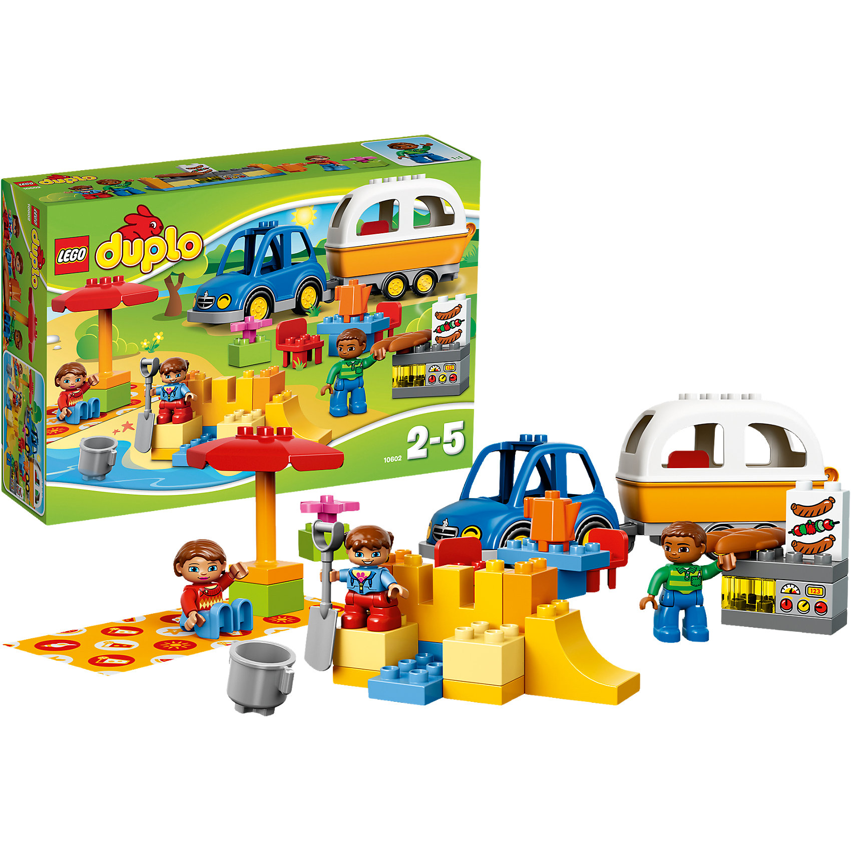 LEGO DUPLO 10602: Отдых на природе