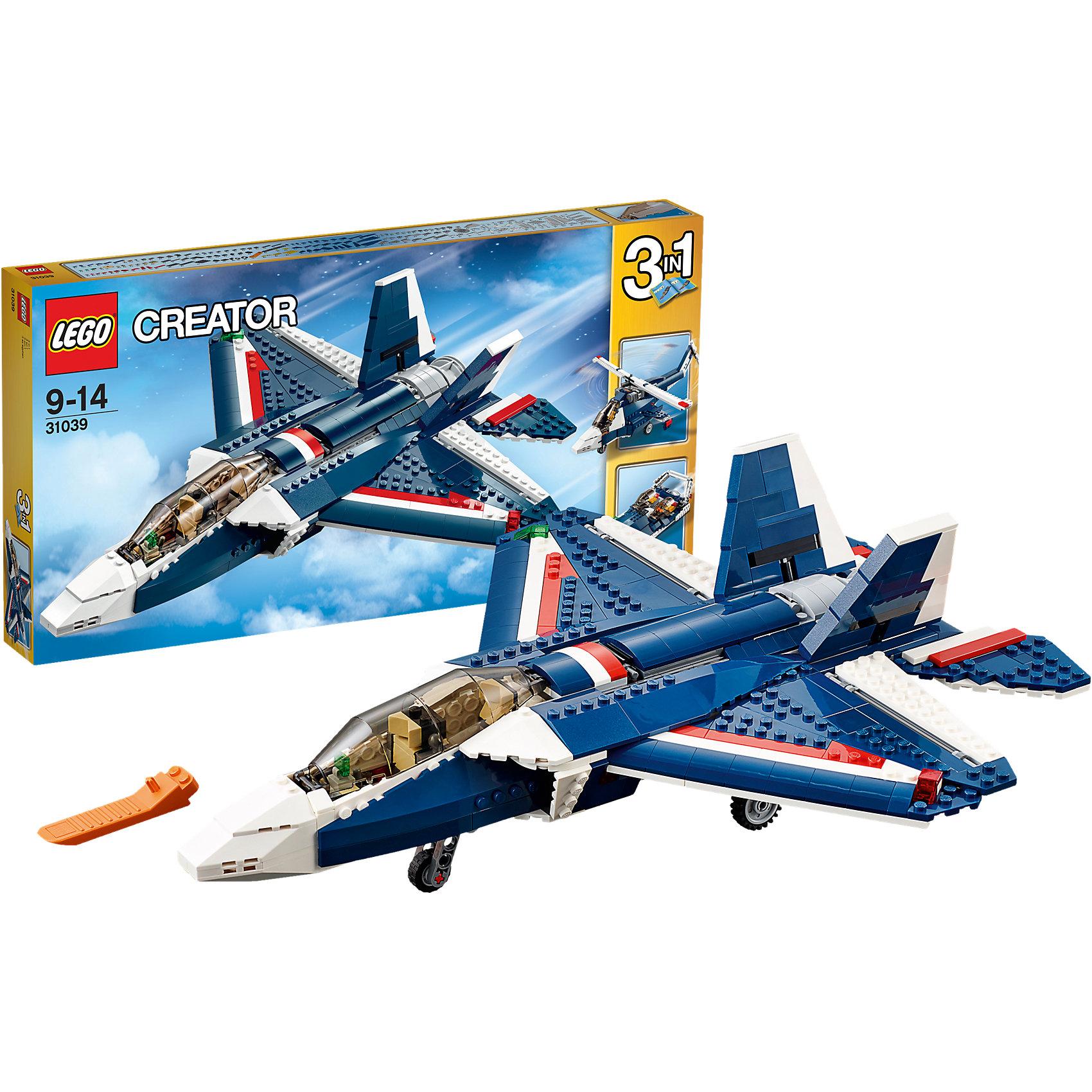 LEGO LEGO Creator 31039: Синий реактивный самолет