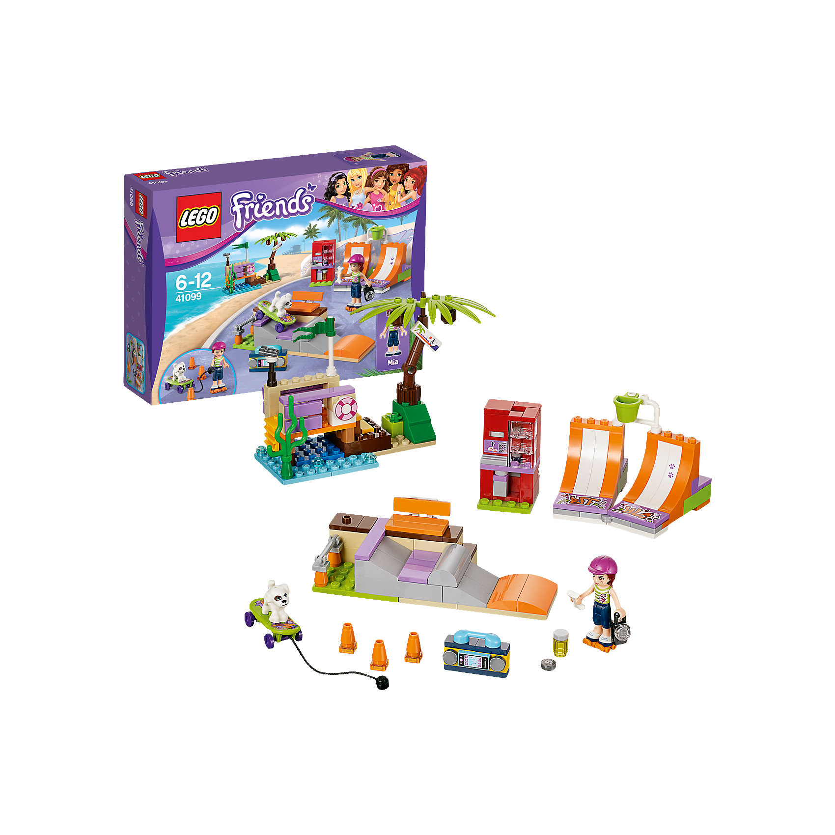 LEGO LEGO Friends 41099: Скейт-парк