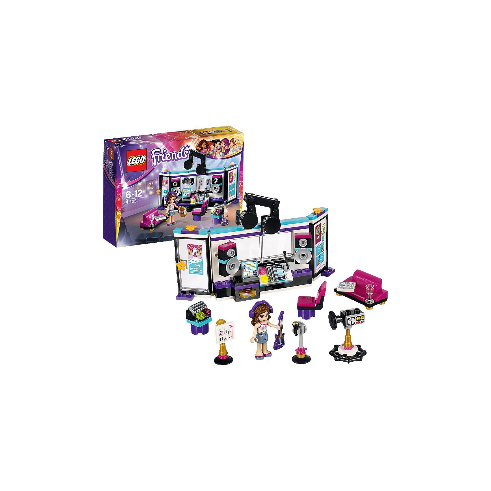 LEGO LEGO Friends 41103: Поп звезда: студия звукозаписи electric scooter antiskid seat hand brake recreation vehicle collapsible disabled safety comfortable for single elder people