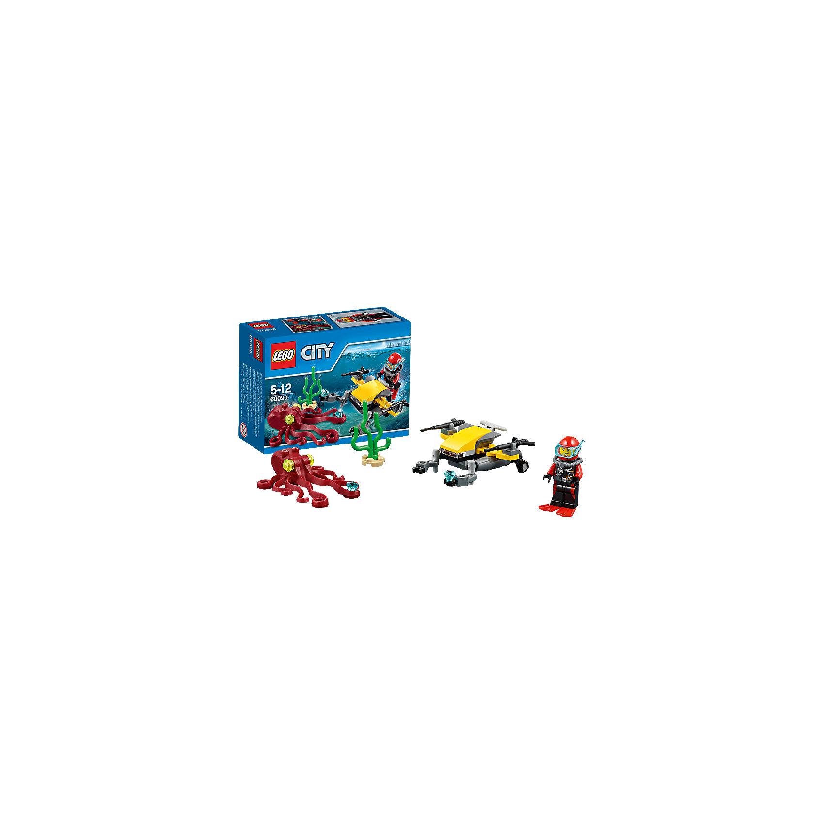 LEGO LEGO City 60090: Глубоководный скутер lego city 60110 лего город пожарная часть