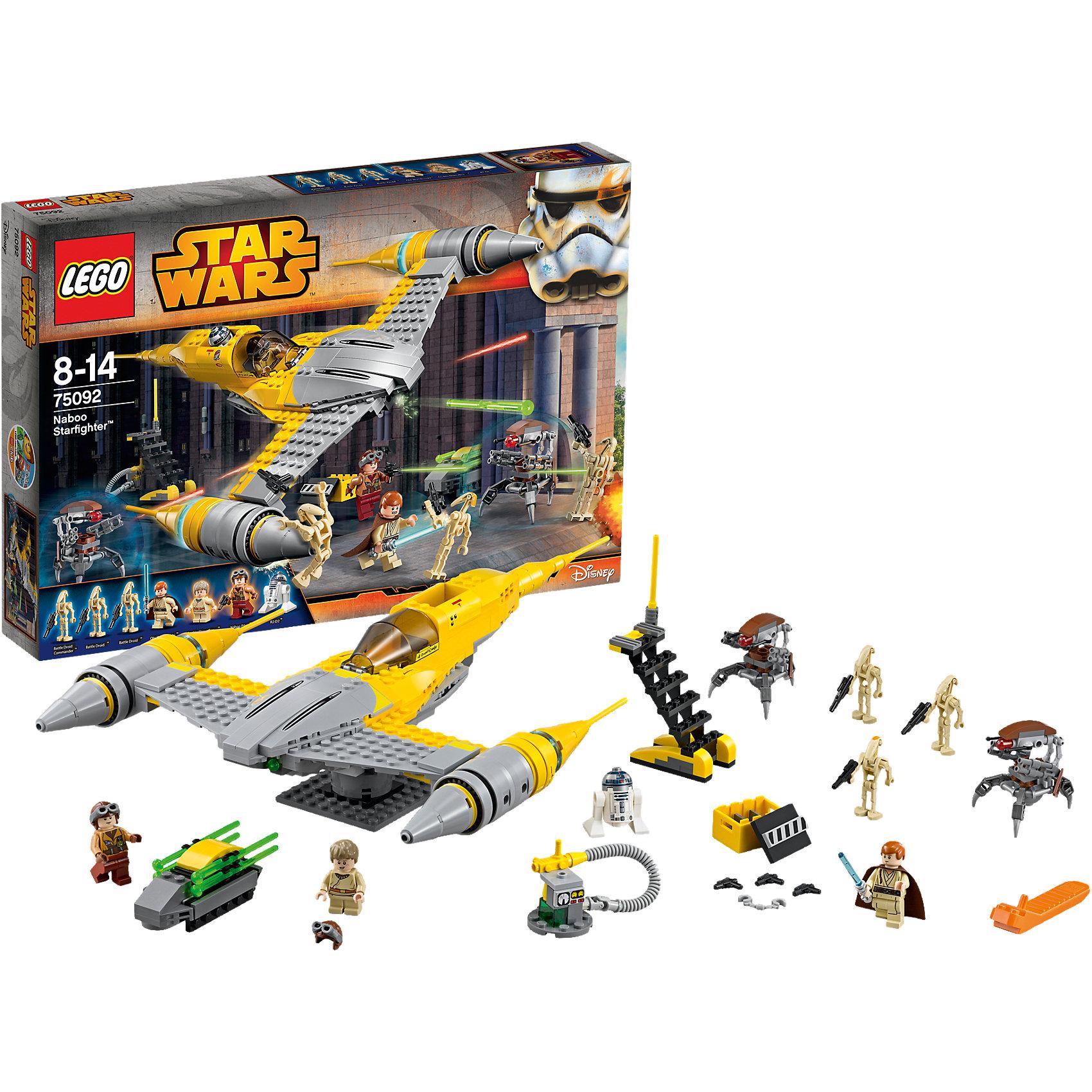 lego lego star wars 75150 лего звездные войны усовершенствованный истребитель сид дарта вейдера LEGO LEGO Star Wars 75092: Истребитель Набу™ (Naboo Starfighter™)