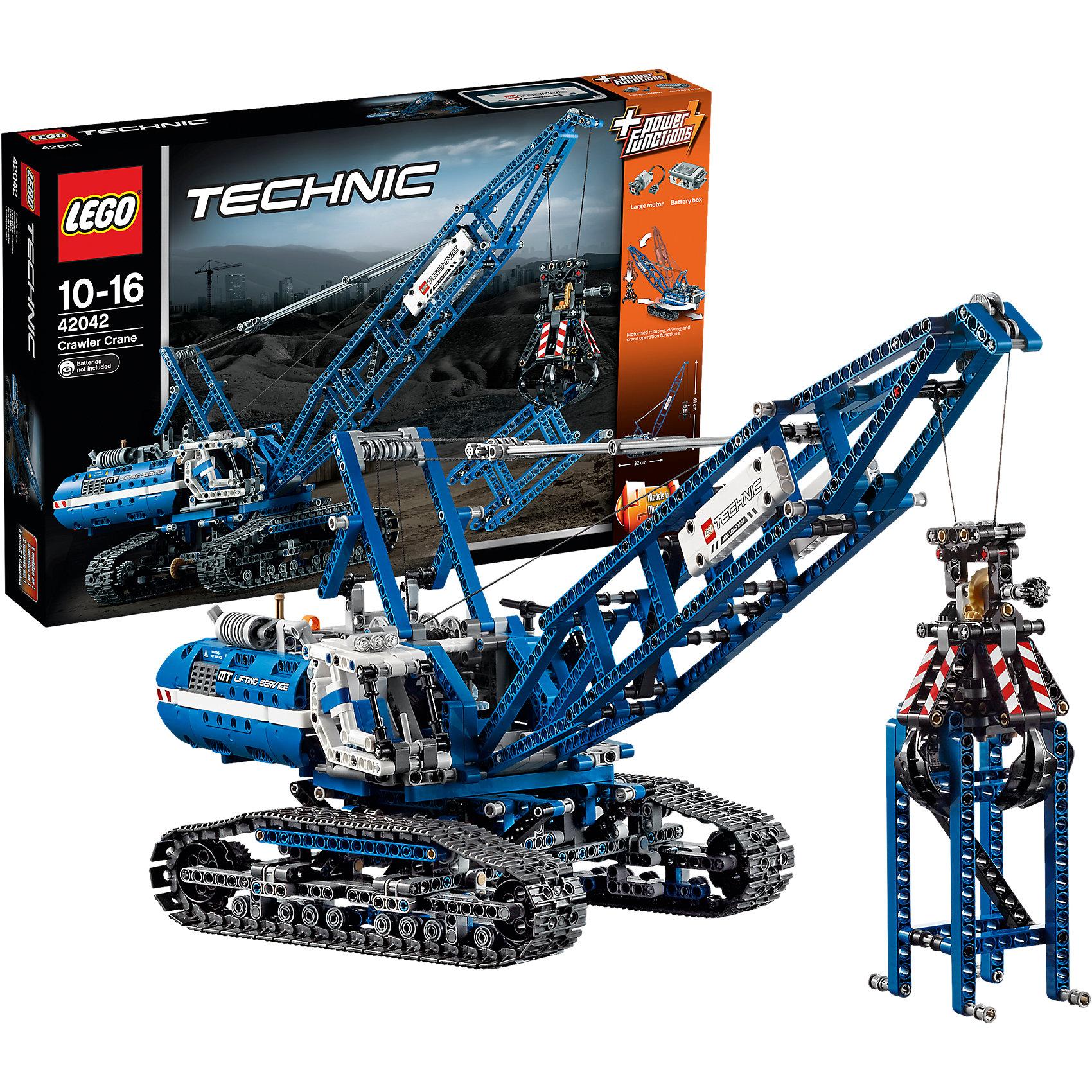 LEGO LEGO Technic 42042: Гусеничный кран купить б у кран мкг