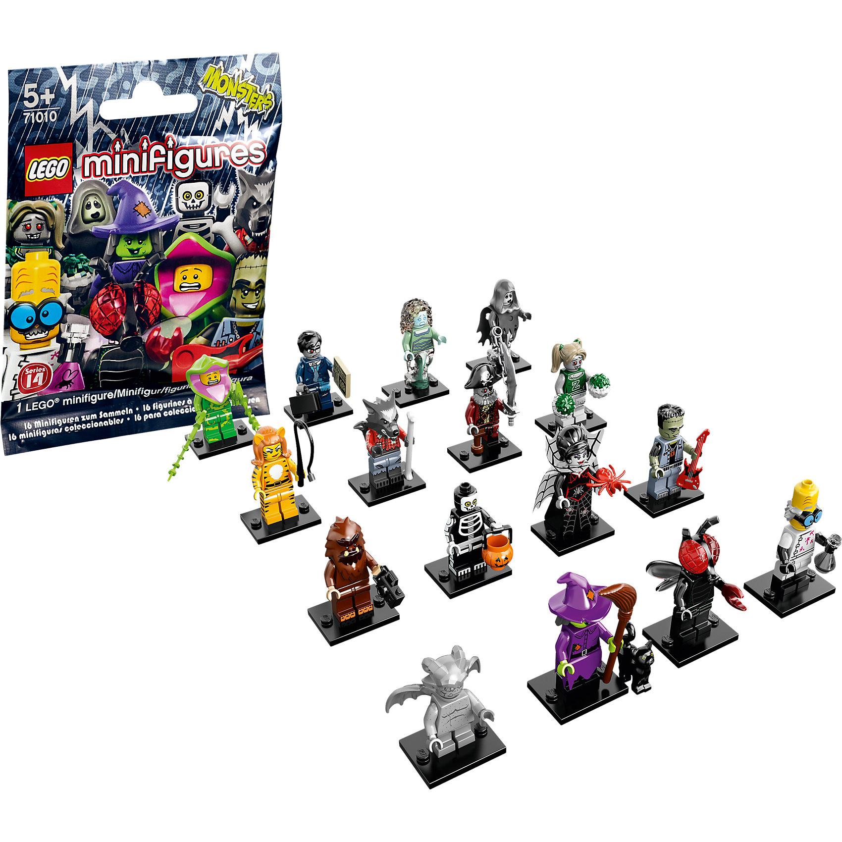 LEGO 71010: Минифигурки