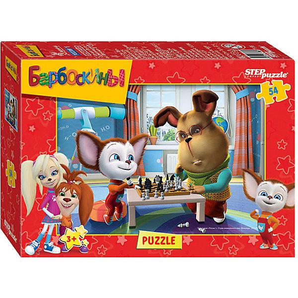 Пазл Лунтик, Барбоскины, 54 детали, в ассортиментеПазлы для малышей<br>Пазл Лунтик, Барбоскины, 54 детали, в ассортименте – это развивающая игра-головоломка для детей.<br>Очаровательный Лунтик и веселая семья Барбоскиных приглашают присоединиться к их головокружительным приключениям. Яркие, насыщенные цвета пазла обязательно порадуют малыша и привлекут его внимание. Сборка пазлов - это увлекательное и полезное занятие. Оно способствует развитию у ребенка образного и логического мышления, наблюдательности, мелкой моторики и координации движений руки.<br><br>Дополнительная информация:<br><br>- В ассортименте: пазл Лунтик,пазл Барбоскины<br>- Количество элементов: 54<br>- Размер готовой картинки: 18х13 см.<br>- Материалы: картон, бумага<br>- Размер упаковки: 7х3х9 см.<br>- Вес: 300 гр.<br>- ВНИМАНИЕ! Данный товар представлен в ассортименте. К сожалению, предварительный выбор невозможен. При заказе нескольких единиц данного товара, возможно получение одинаковых<br><br>Пазл Лунтик, Барбоскины, 54 детали, в ассортименте можно купить в нашем интернет-магазине.<br>Ширина мм: 7; Глубина мм: 3; Высота мм: 9; Вес г: 300; Возраст от месяцев: 36; Возраст до месяцев: 72; Пол: Унисекс; Возраст: Детский; Количество деталей: 54; SKU: 4048191;
