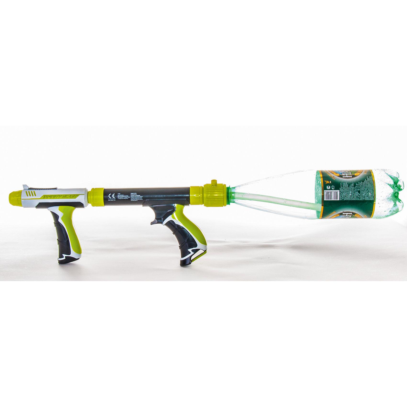 - Водное оружие со съемным резервуаром Infinity Blast, HYDRO FORCE водное оружие hydro force side winder с картриджем на 300 мл