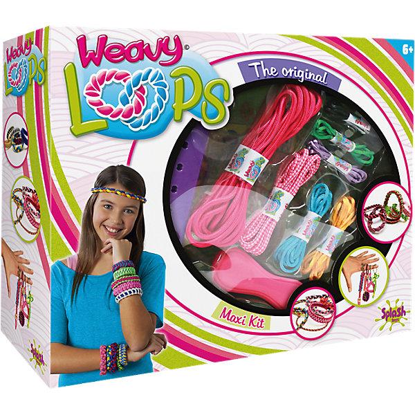 Набор для создания украшений 4 в 1, Weavy LoopsНаборы для создания украшений<br>Большой набор для создания украшений 4 в 1, Weavy Loops - увлекательный набор для творчества, который надолго увлечет Вашу девочку и не даст ей скучать. Браслеты, обручи, брелки, цветные шнурки для украшения различных аксессуаров - можно сплести все, что подскажет фантазия. В комплекте Вы найдете все необходимые для изготовления ярких и стильных украшений: инструмент для плетения, цветные шнурки разных цветов, клипсы, цветные колечки, петли и другие аксессуары. Несложная, доступная даже новичкам техника плетения позволит Вам быстро освоить новый вид творчества и порадоваться первым успехам. Оригинальные украшения помогут создать свой неповторимый стиль или станут прекрасным подарком, сделанным своими руками. Комплект оформлен в яркую подарочную коробочку. Развивает творческие и художественные способности, фантазию, усидчивость, мелкую моторику.<br><br> Дополнительная информация:<br><br>- В комплекте: инструмент для плетения, цветные шнурки, петли, застежки, клипсы, цветные колечки, наклейки для украшения, другие аксессуары.<br>- Материал: пластик, текстиль, металл.<br>- Размер упаковки: 26,1 x 31,9 x 8,3 см. <br>- Вес: 0,598 кг.<br><br>Набор для создания украшений 4 в 1, Weavy Loops, можно купить в нашем интернет-магазине.<br><br>Ширина мм: 330<br>Глубина мм: 259<br>Высота мм: 88<br>Вес г: 591<br>Возраст от месяцев: 72<br>Возраст до месяцев: 144<br>Пол: Женский<br>Возраст: Детский<br>SKU: 4050216